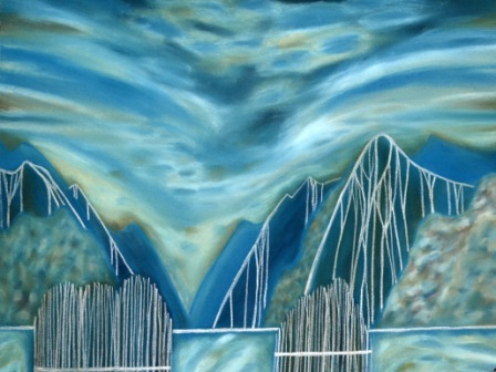 Marilynn Webb,  Going through Fiordland – Dusky Sound , 2015