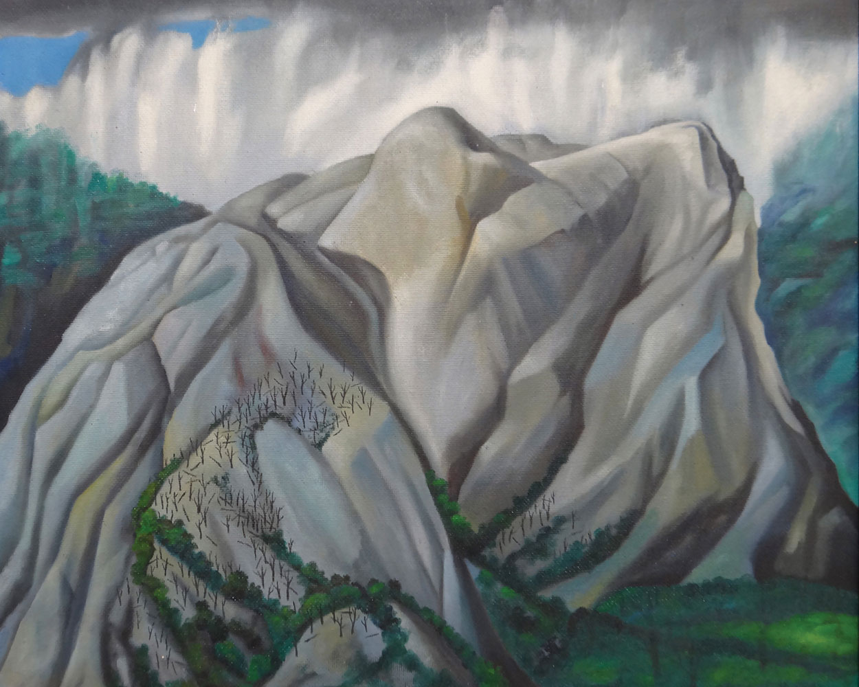 Leo BENSEMANN (New Zealander, b.1912, d.1986),    After Rain, Takaka , 1971, oil on canvas board. Collection of The Suter Art Gallery Te Aratoi o Whakatū: purchased, 2016