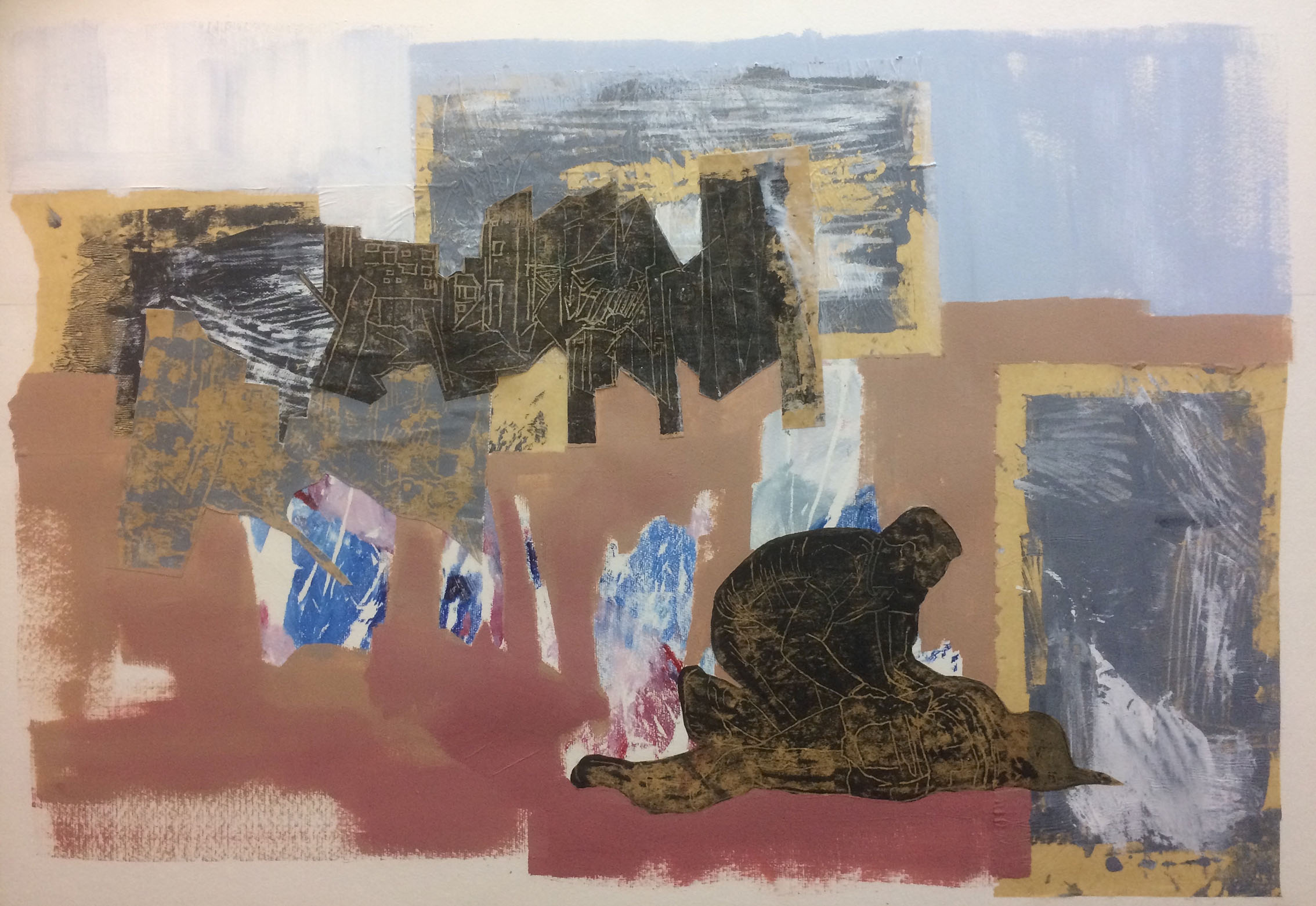 Lisa Chandler, Untitled, 2018, acrylic on Hahnemule Paper