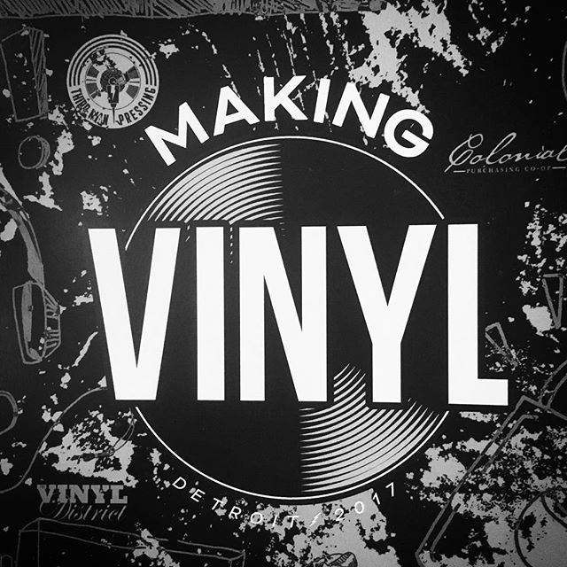 We're thrilled to be celebrating the rebirth of vinyl at Making Vinyl 2017! #musiciseverything #makingvinyldetroit #makingvinyl2017
