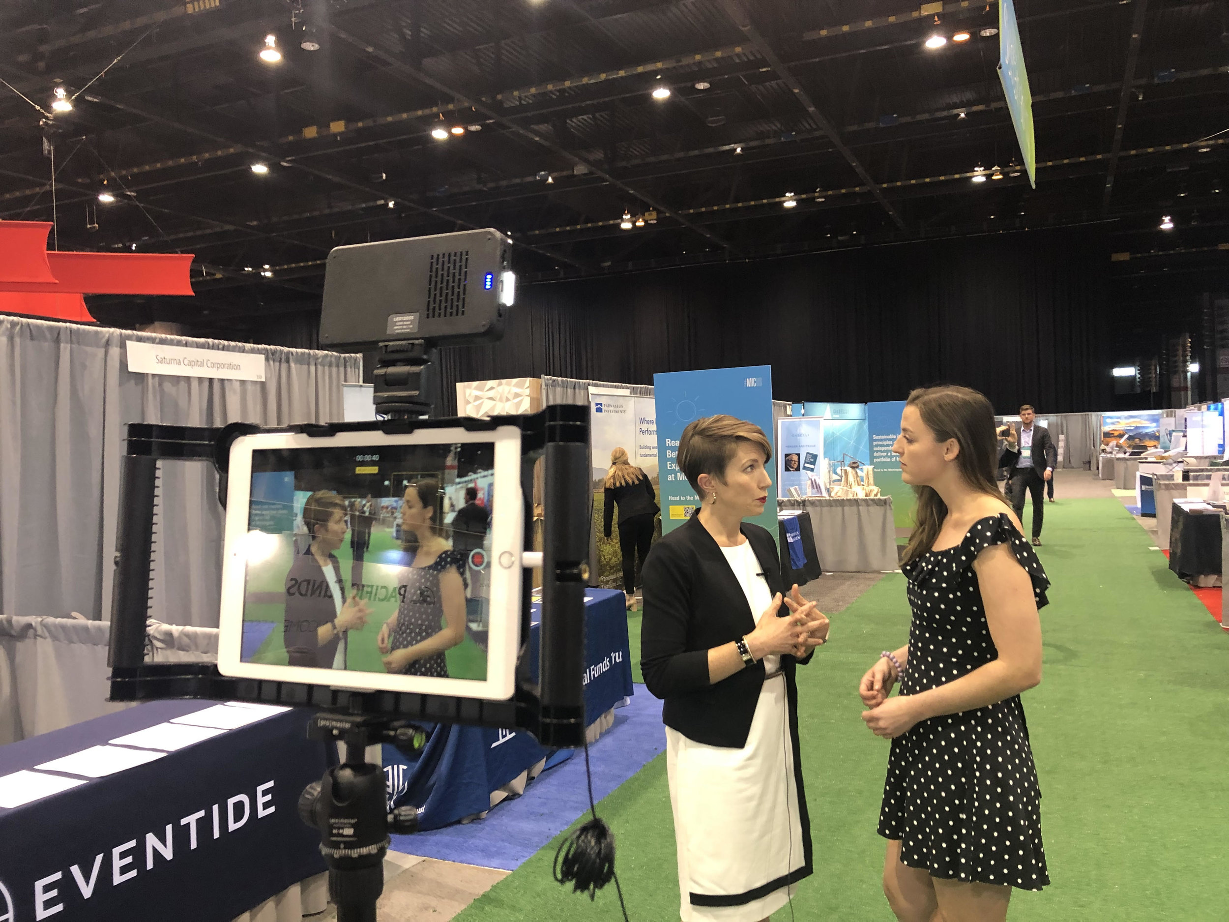 In Sustainability Row, chatting with Amelia Garland of CityWire.