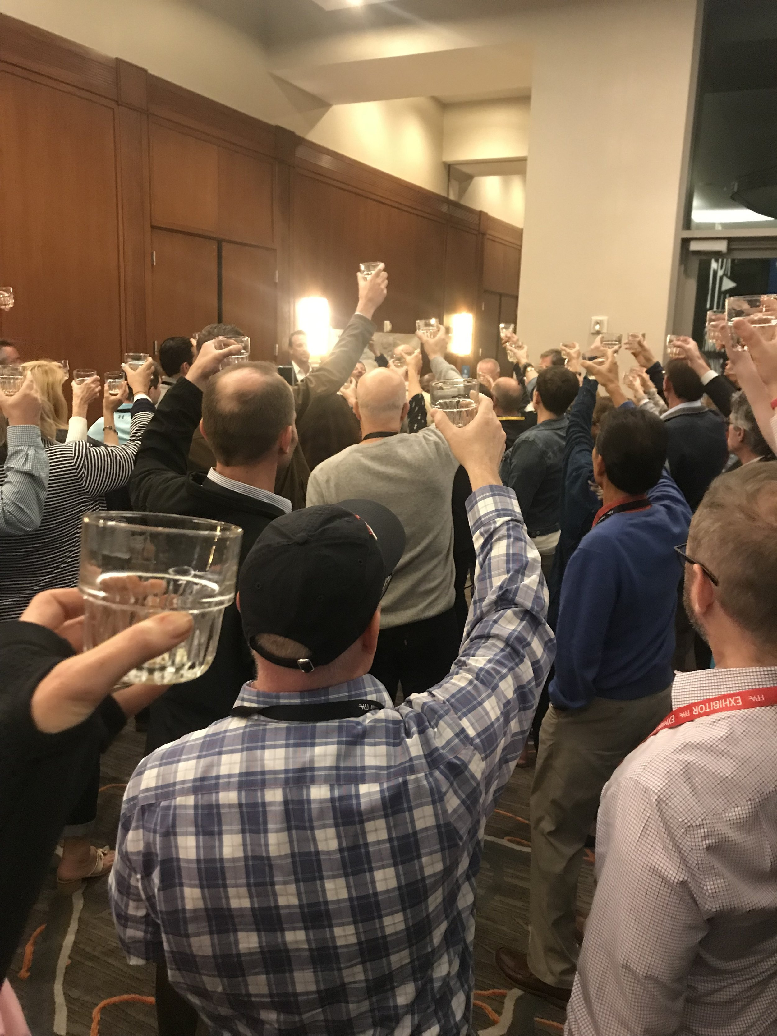 Whiskey tasting event
