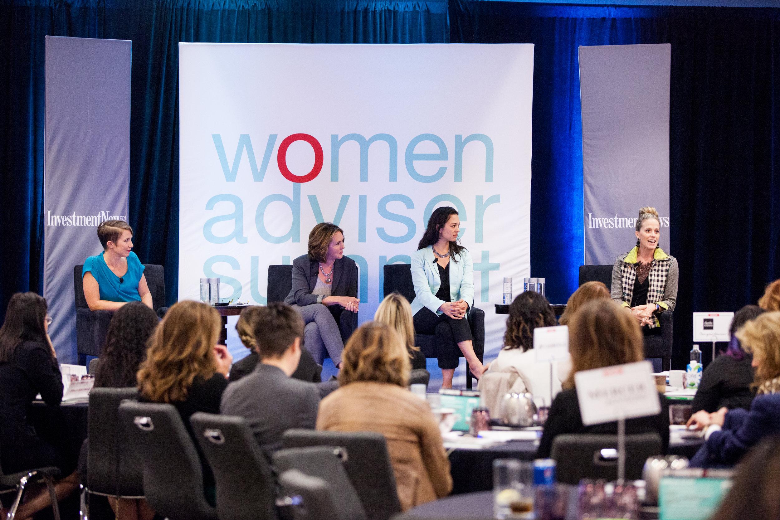 Women Adviser Summit SF 2018