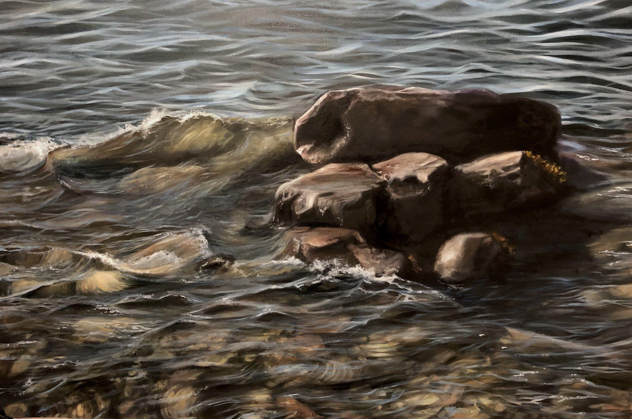 Conversion, Oil on Canvas, 2019