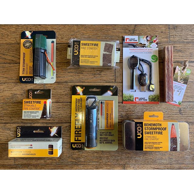 Fire starter options for your next camping, hiking, fishing, or backpacking trip 🔥🔥🔥 - - - - #goinleftmaui #lahaina #maui #mauihawaii #lahainamaui #survival #camping #firestarters #hurricane #prepare #preparefortheworst #hurricanepreparedness #camp #camping #campstuff #campgear #shopsmall #shoplocal #supportlocal #light #fire #backpacking #fishing #hiking