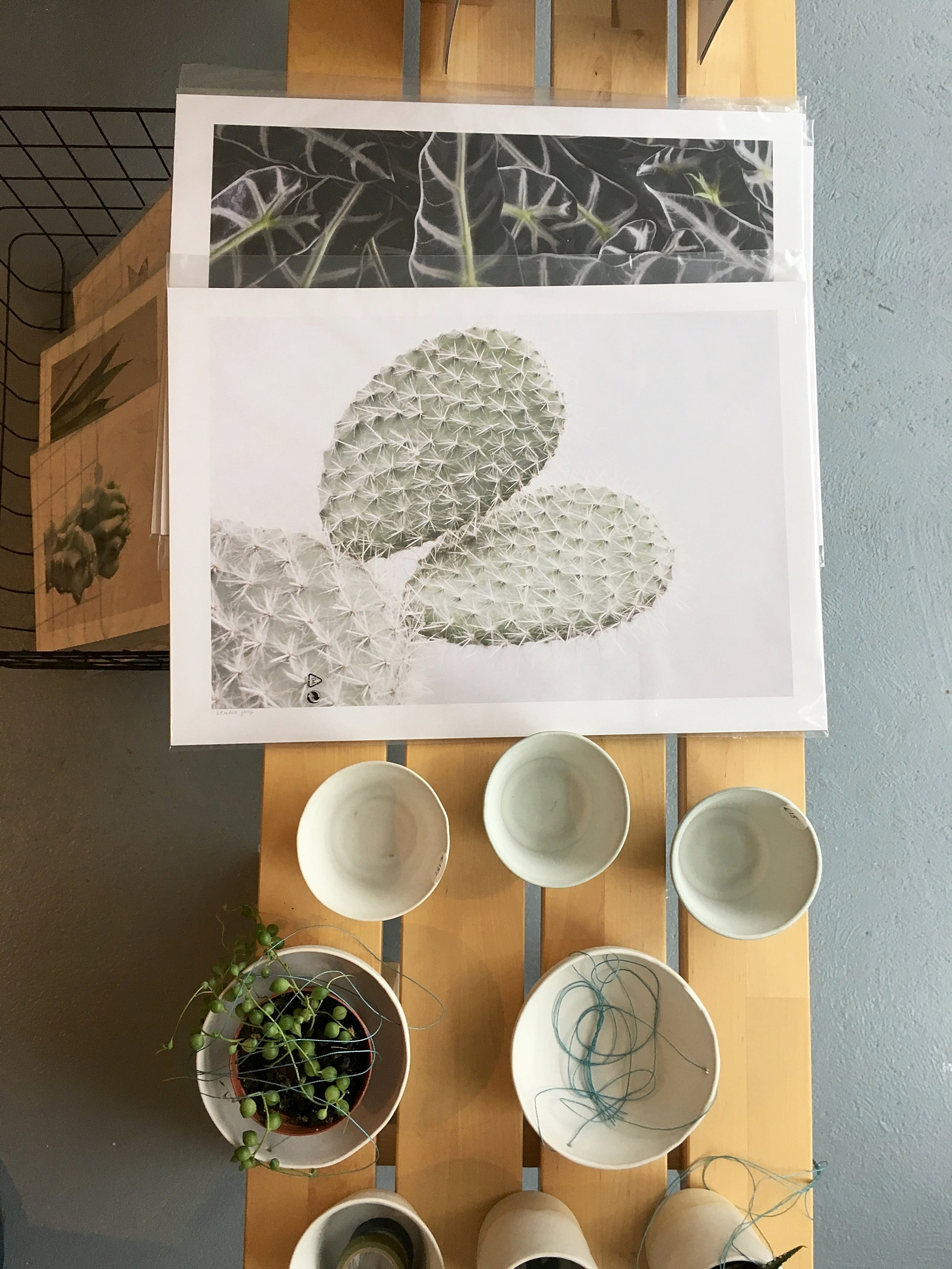 ~great ceramics and posters made by    Annemieke Boots Ceramics.