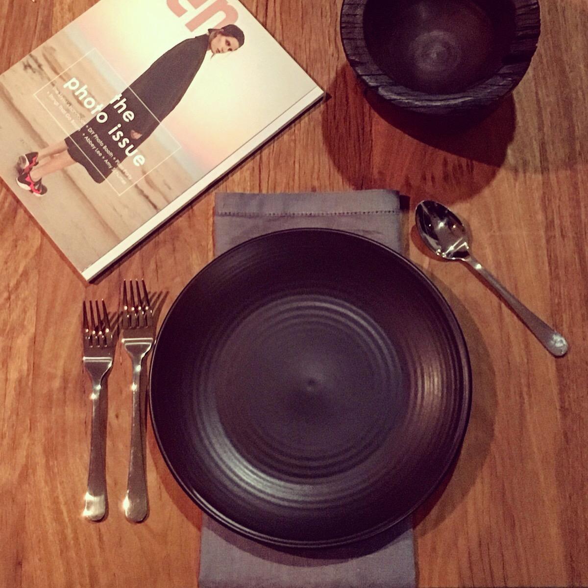 Black Dinner Plates $1.60 each