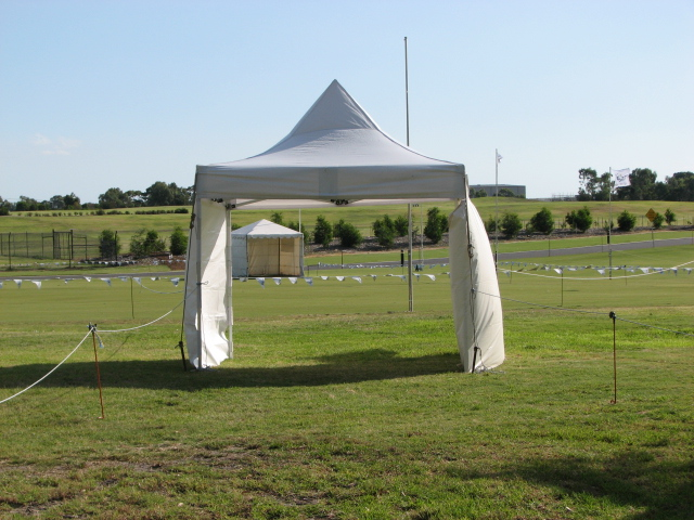 3 x 3m Spring Top Marquee