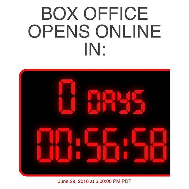 Online box office opens in less then one hour! Are you ready? #strongdancestudios #recitaltickets #countdown #dreamsdocometolife