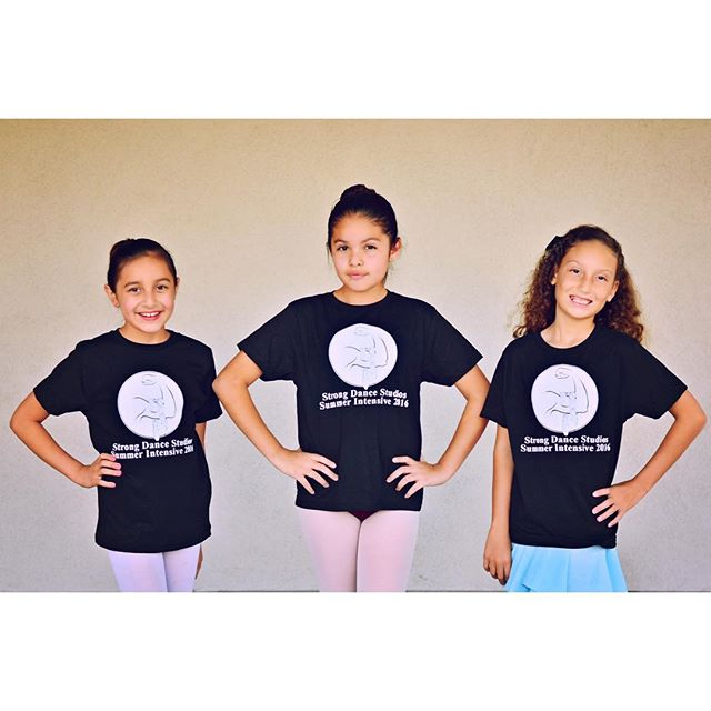 Taste of Strong Summer Intensive starts on Monday. Don't forget to sign up a grab your summer intensive shirt. #SSSI2016 #strongdancestudios #summerintensive #summerfun #intensive #confidentkids #intensiveshirts #dancestudio #cypressca #love #signup #joinus