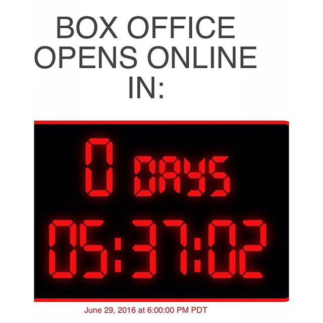 We are counting down till our online box office opens. Head over to our Facebook page at 6pm for the link. You don't want to miss this show. #countdown #recitaltickets #facebook #strongdancestudios #coppelia #dreamsdocometolife #recital2015 #servite #servitehs