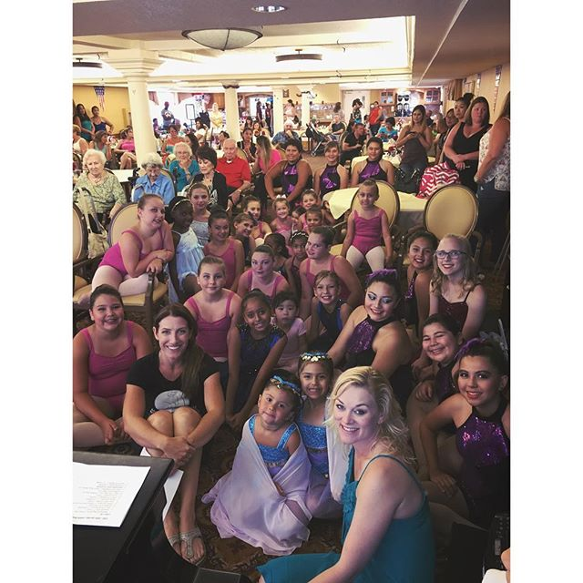 Congrats everyone on a great show. #katellaseniorliving #strongdancestudios #performance #congrats #greatjob #love #teamstrong #wedancestrong