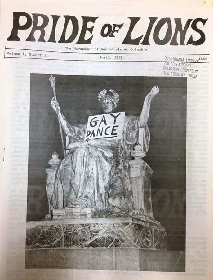 Pride of the Lions  front page, April, 1972