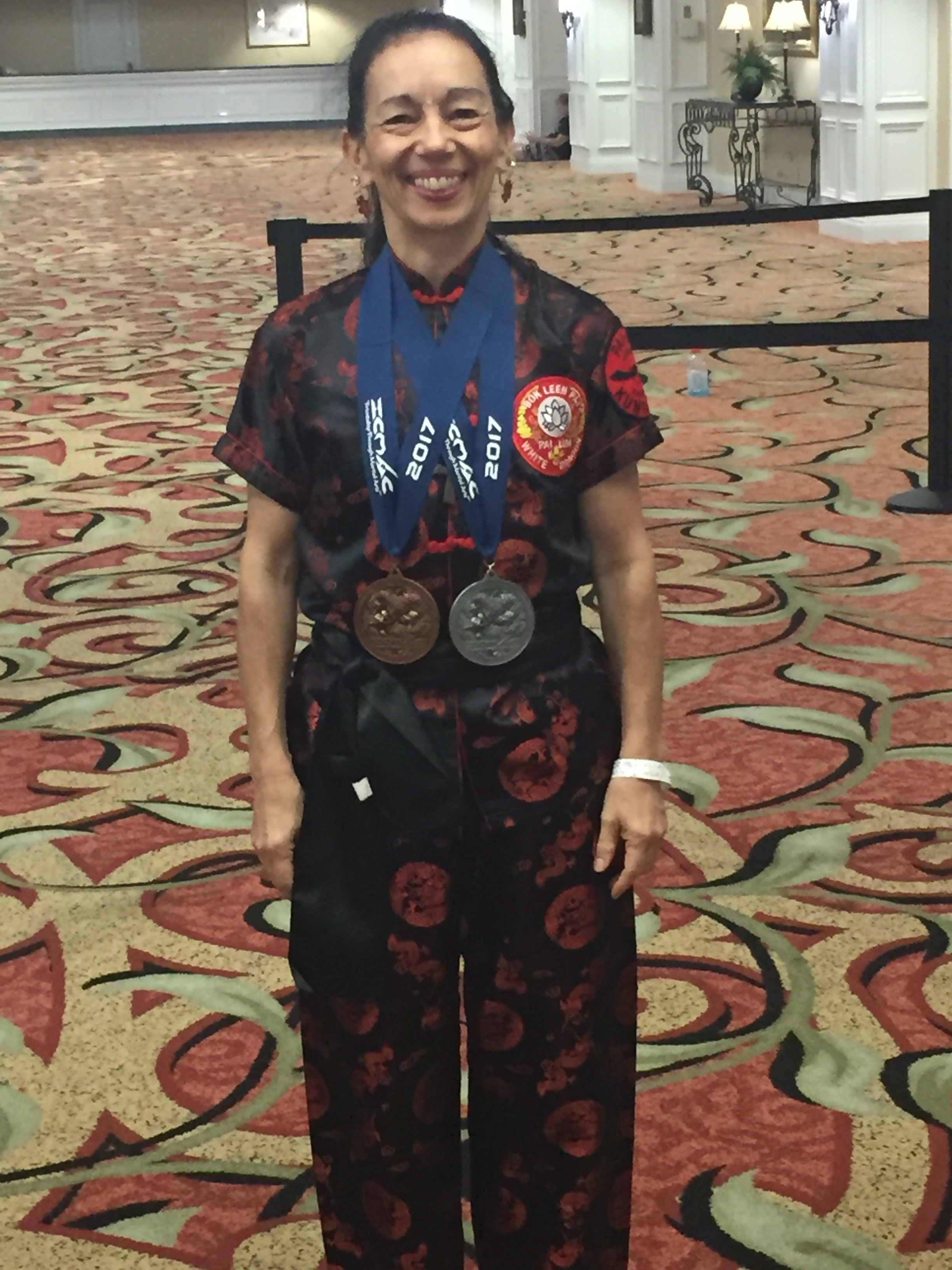 Met so many talented martial artists and great people in Orlando. The competitions were followed by astunning performance of demonstrators from martial arts schools around the world! -