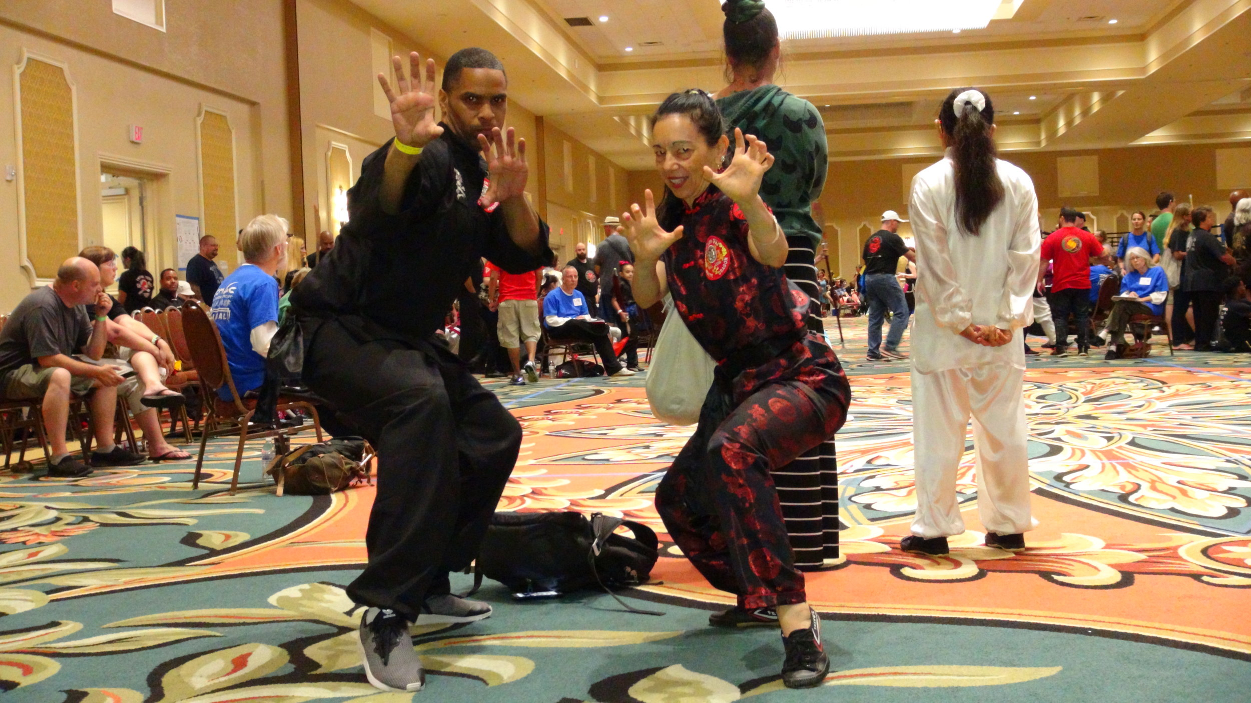 - THE JOY OF TEAMING UP WITH MY WHITE DRAGON FIST PAI LUM NORTHEAST DRAGONS COLLEAUGE