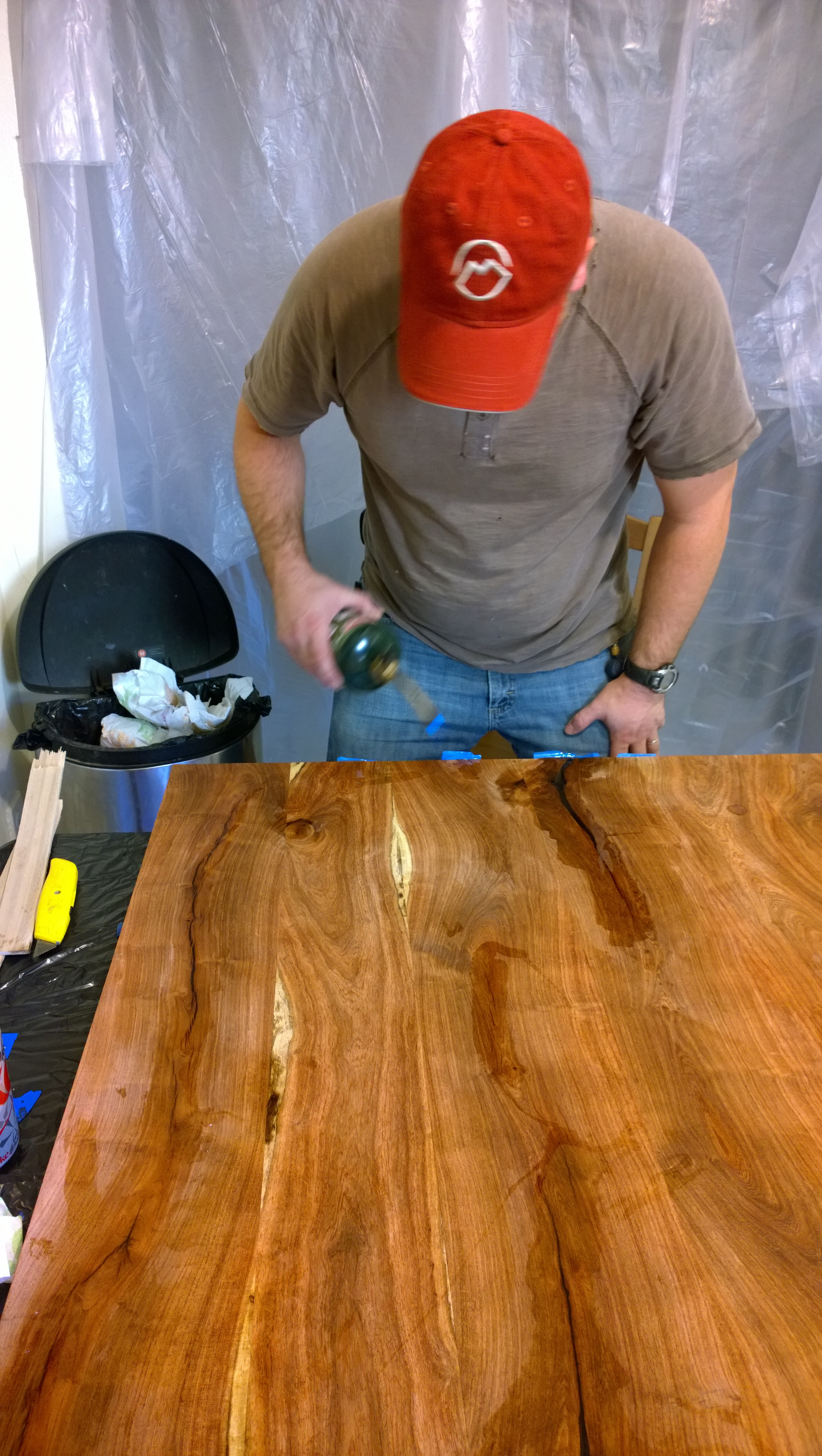 Epoxy is a serious finish.