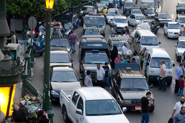 middle east traffic at open air market.jpeg