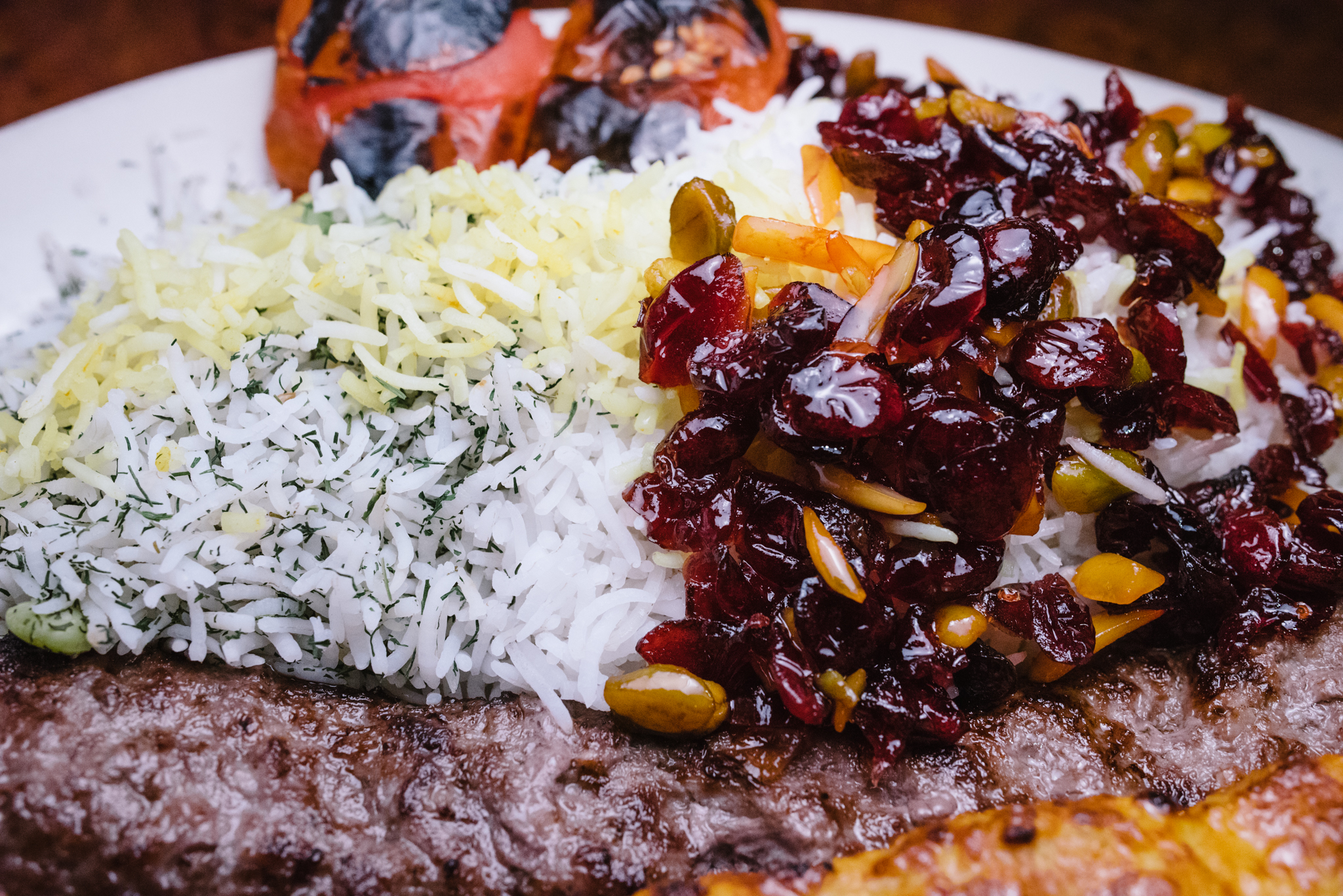 Cranberry and Dill Rices