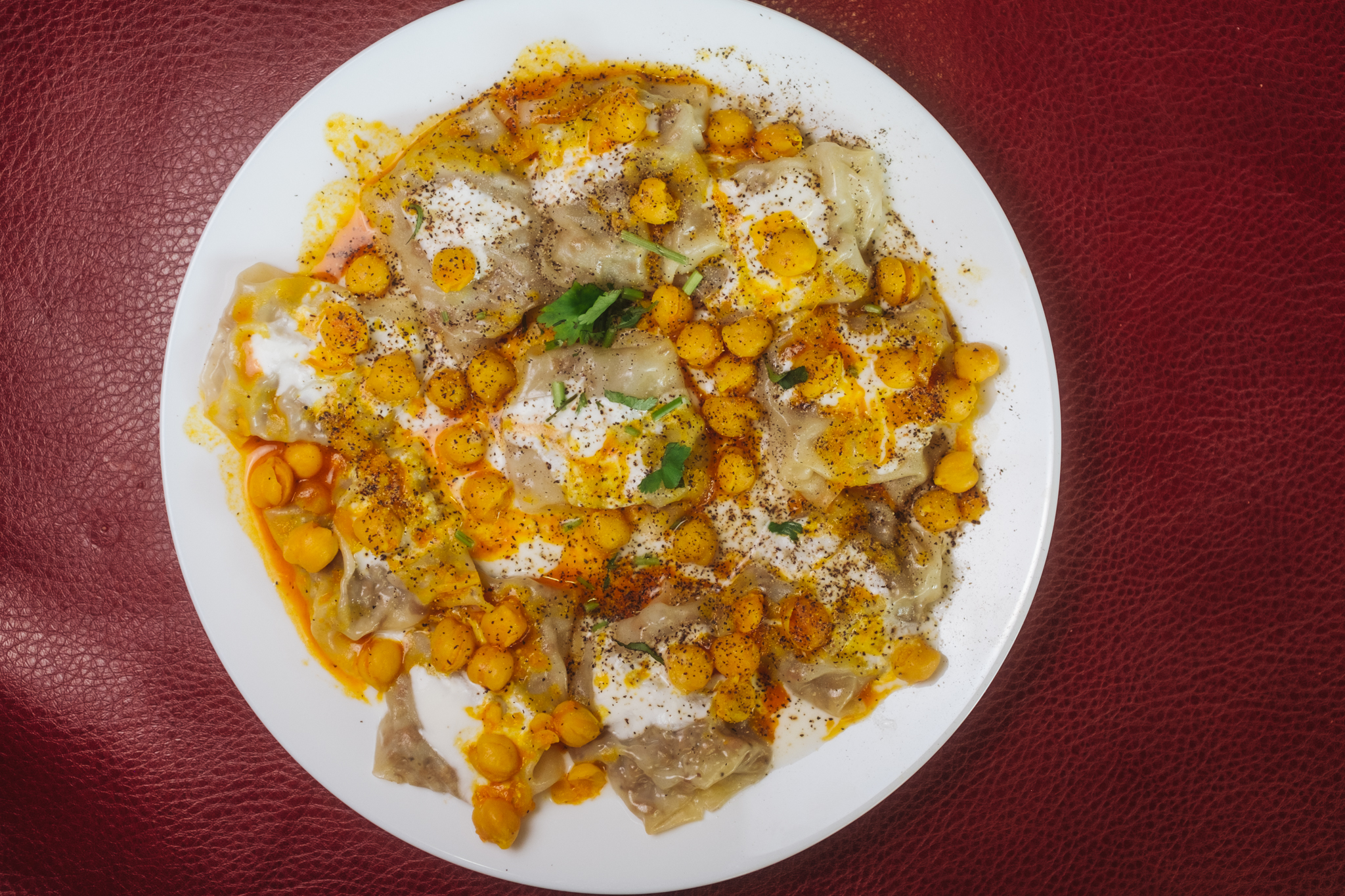 Mantoo (Steamed Dumplings)