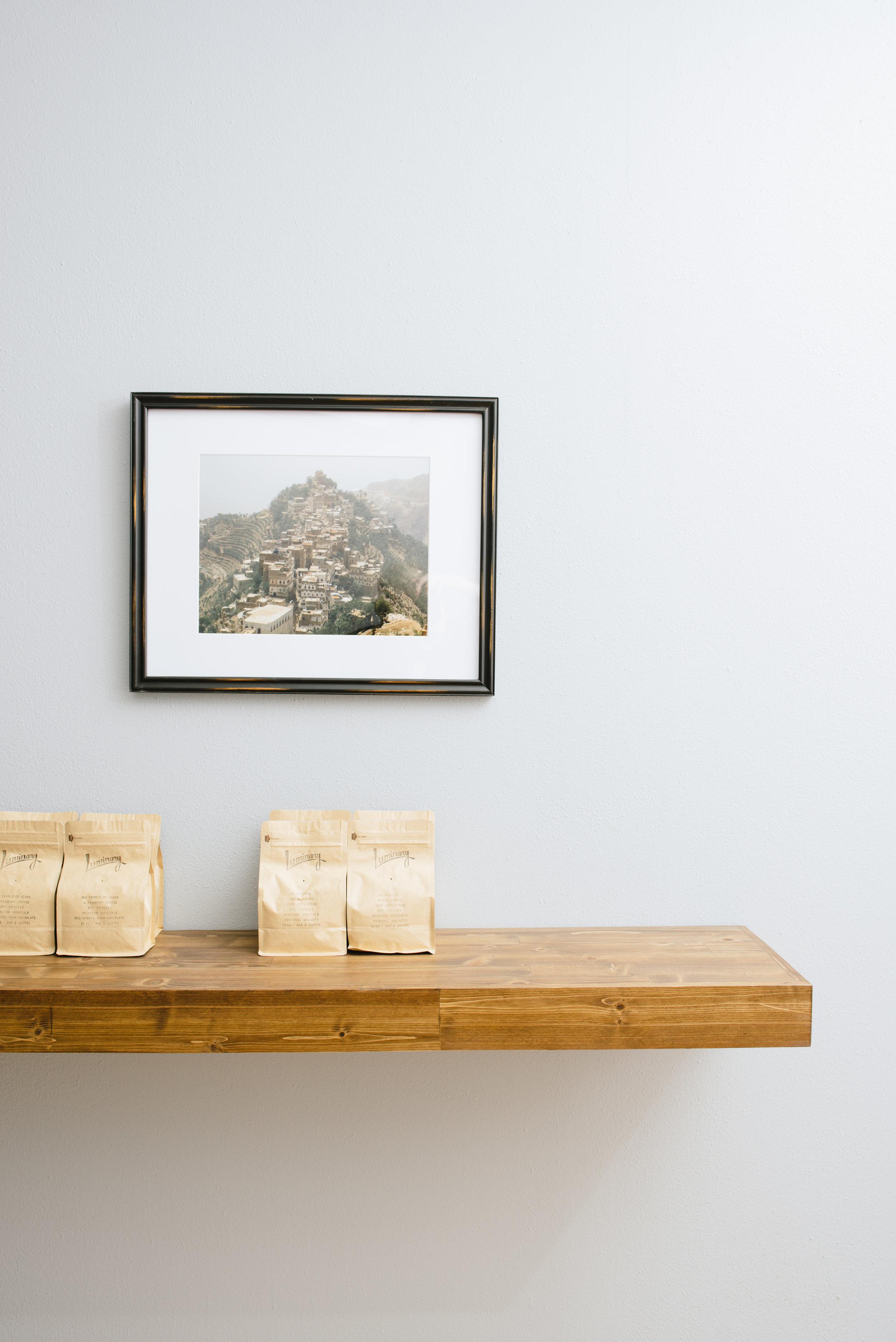 """When you visit, check out the pictures from Yemen, and the """"magic"""" floating shelf."""