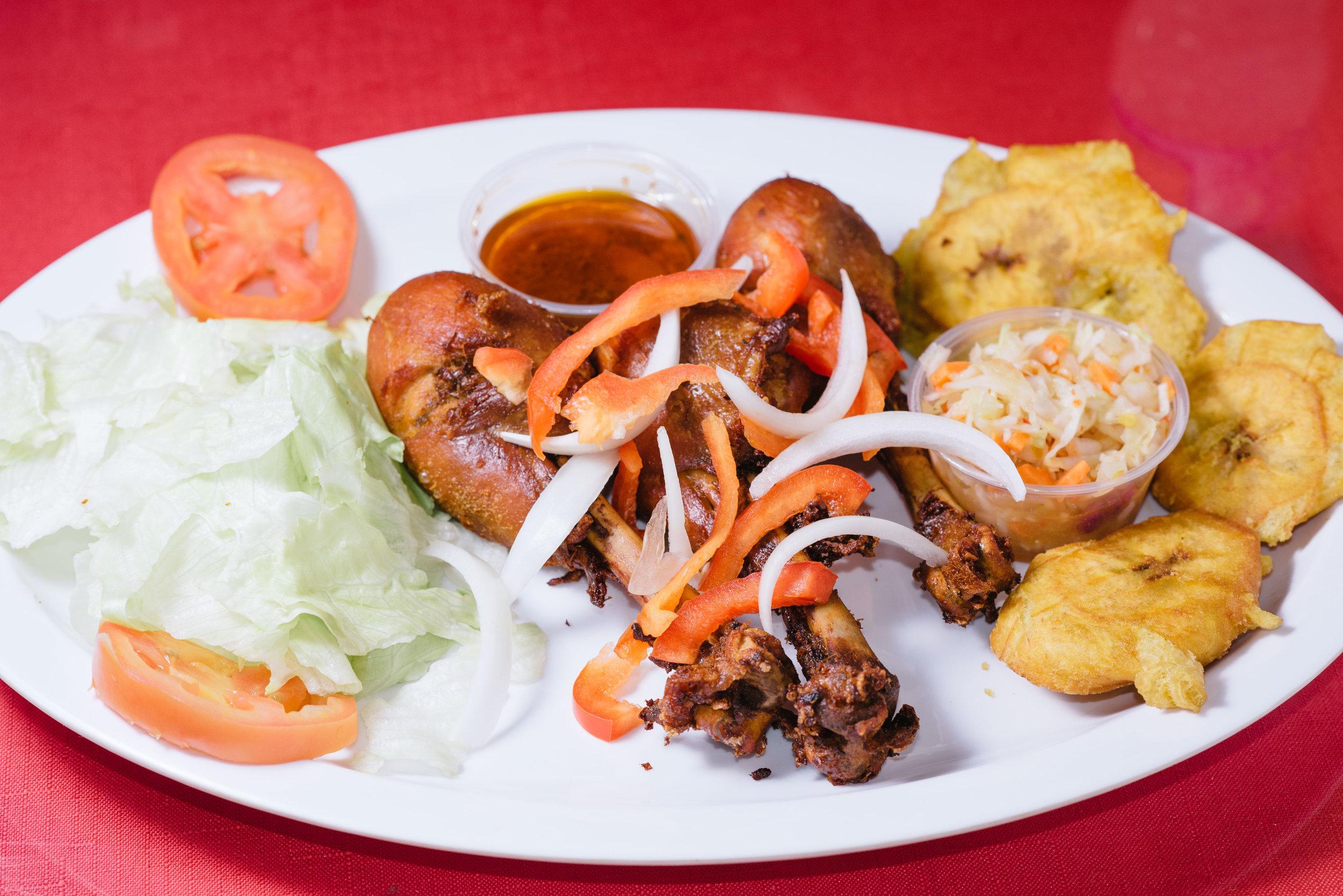 Poul Fri (Grilled Chicken)