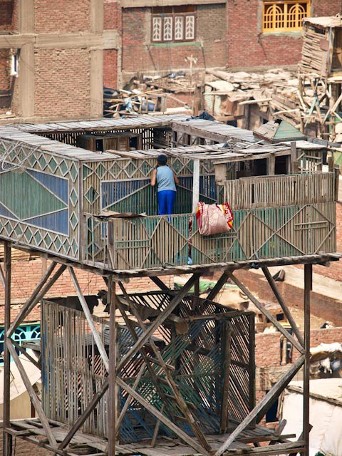 Roof top pigeon coops were all the rage