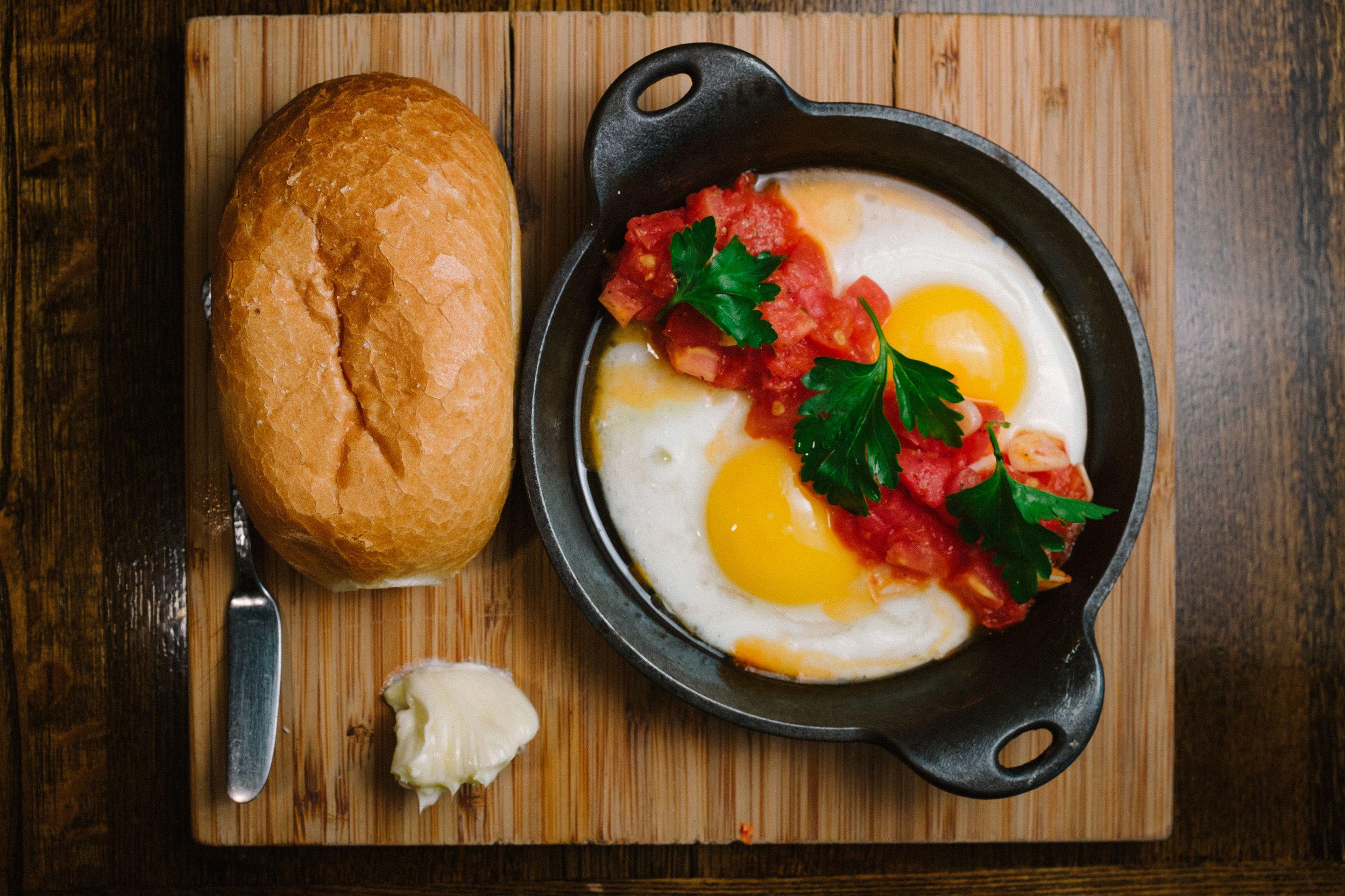 Huevos Con Tomate