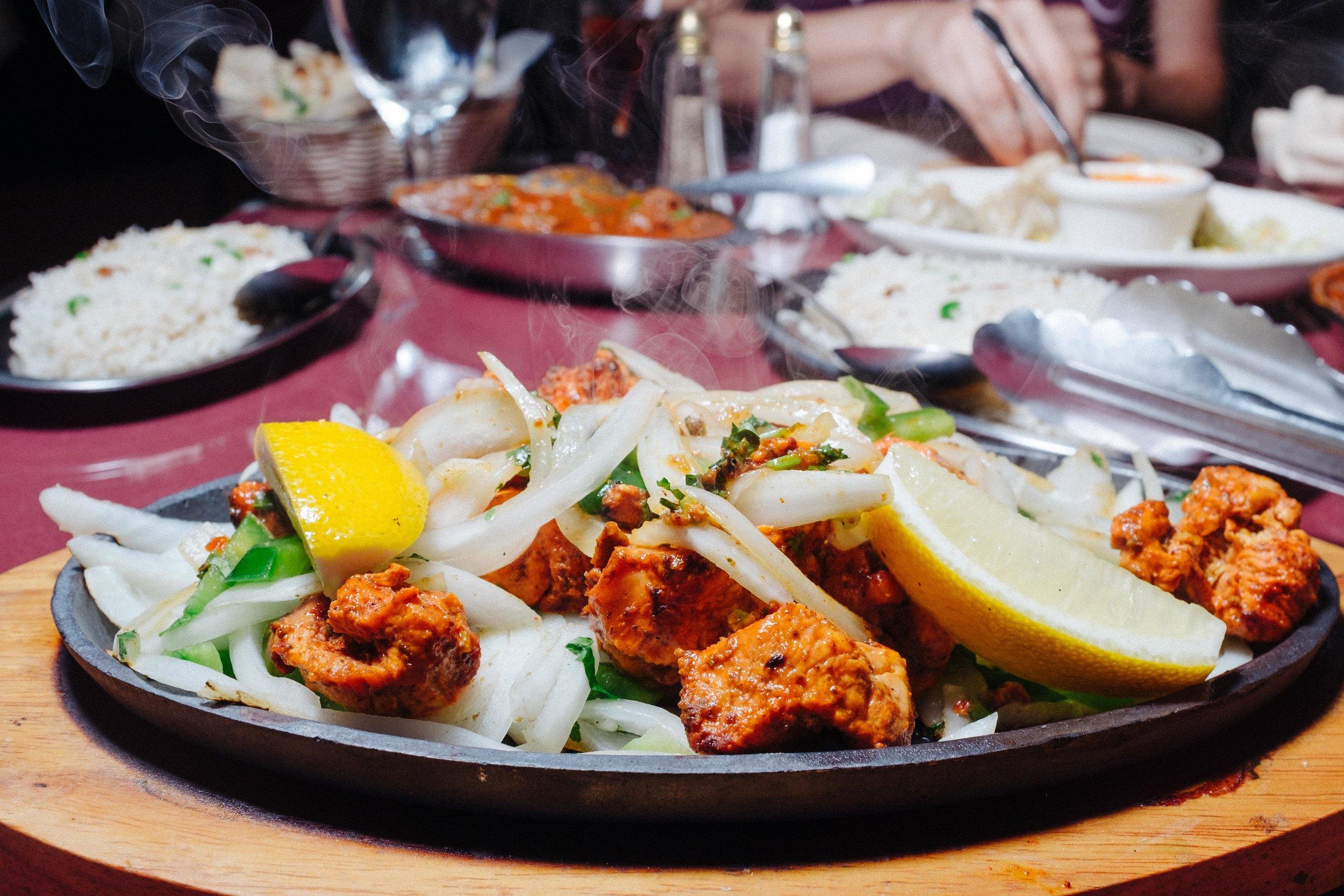 Try Achari Tika (grilled chicken) at Tandoori Gardens,Houston's main stop for Nepali food.