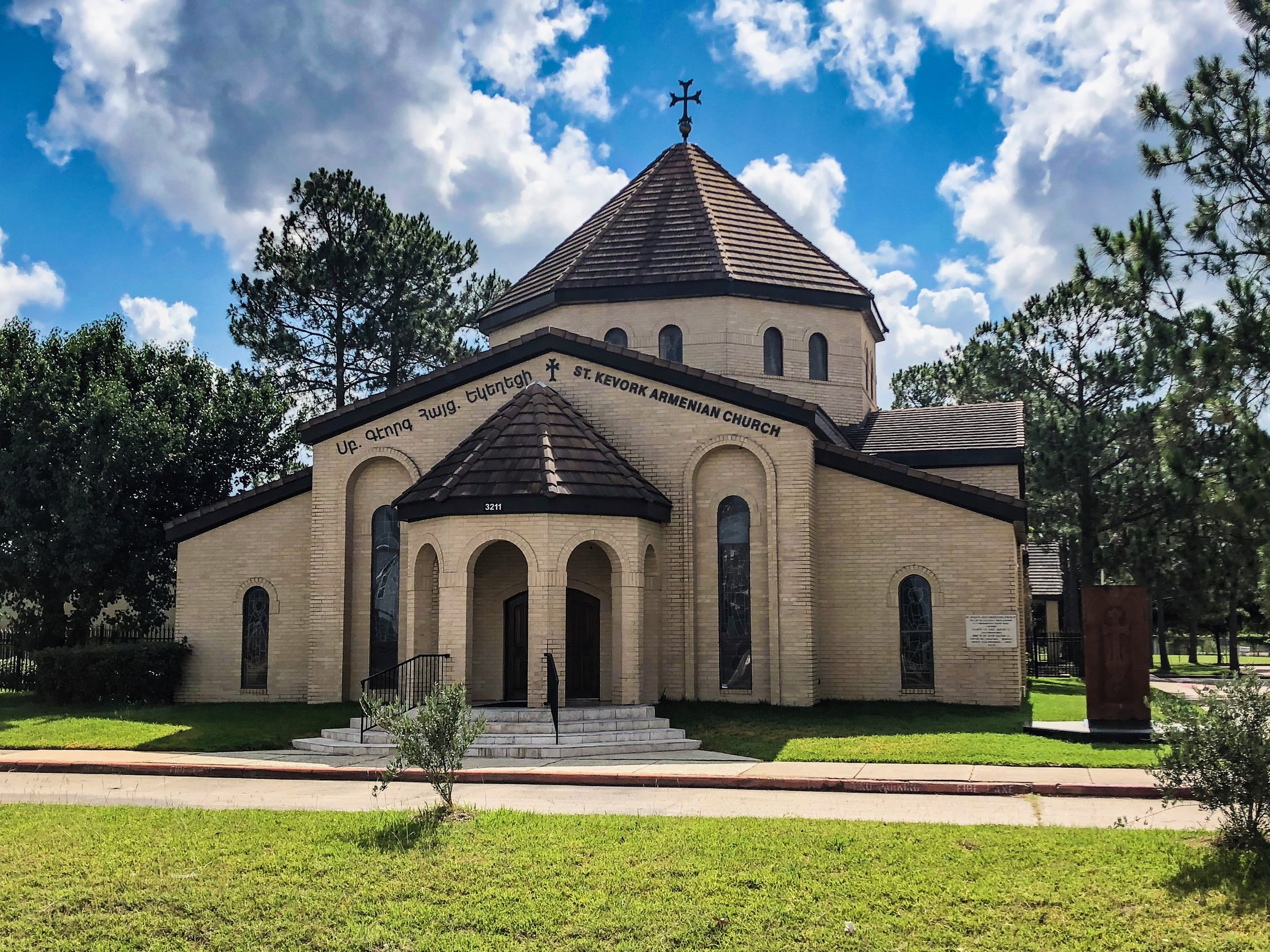 St. Kevork Armenian Apostolic Church in West Houston.