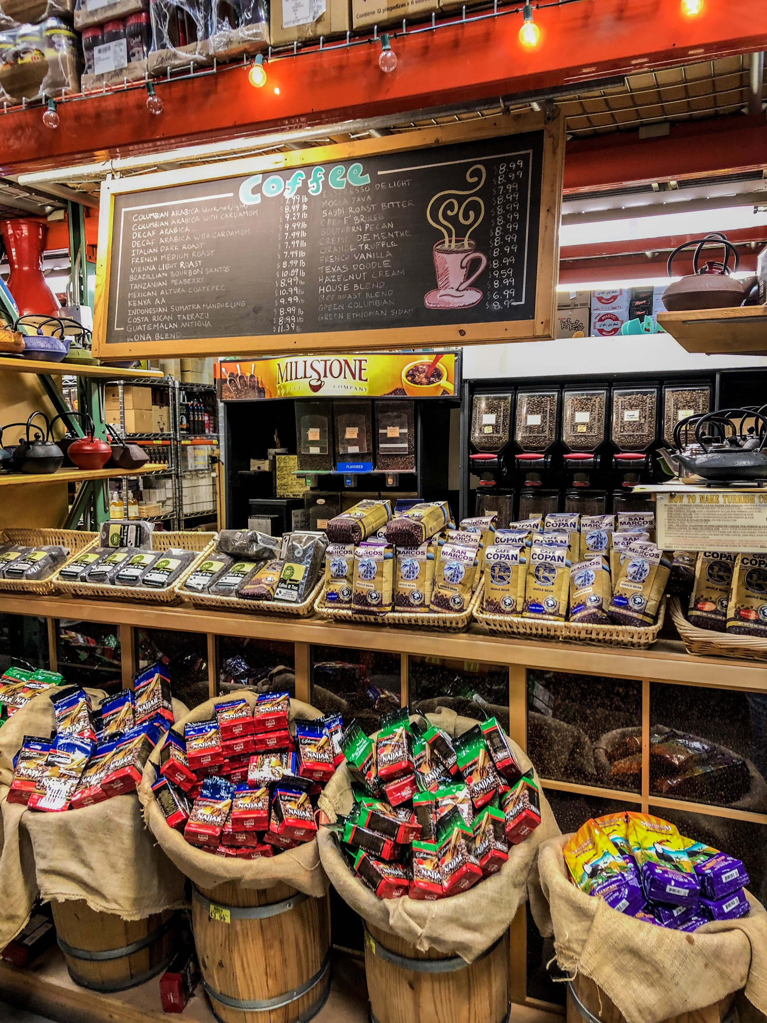 Coffee Bar at the Westheimer store