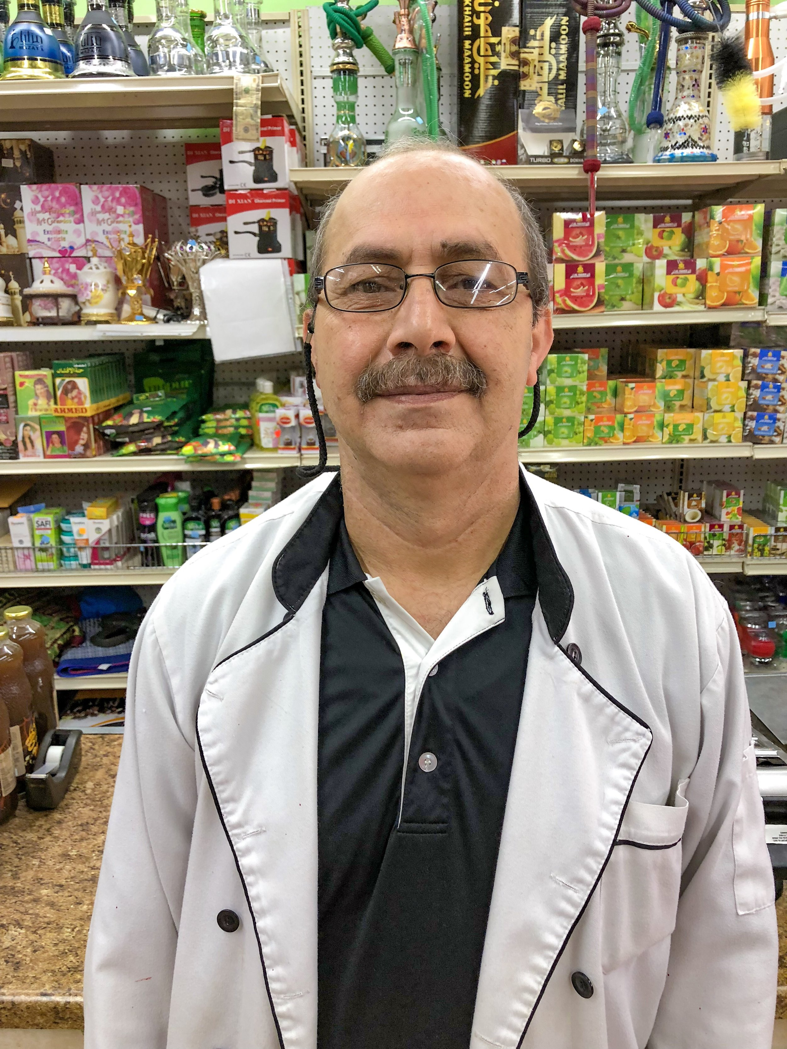 Naser Hittiny - Owner and operator of Alsafa grocery, and partner in Texas Halal Corp.