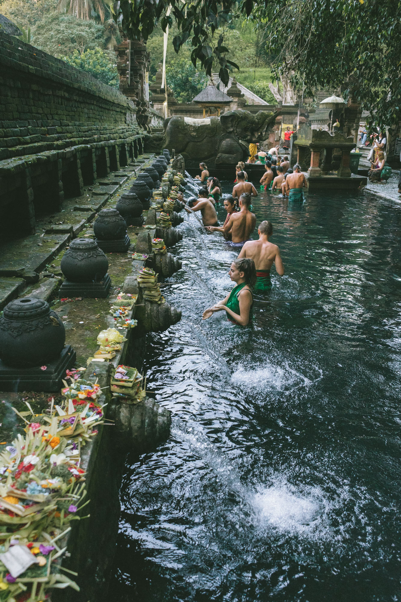 holy water temple in Bali