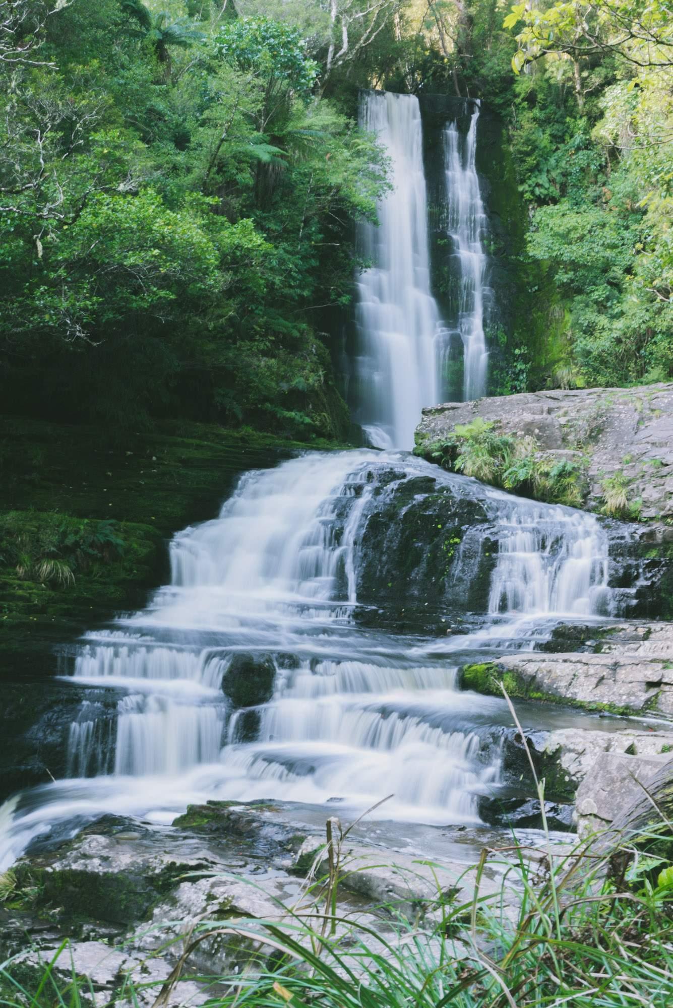 Mclean Falls, New Zealand