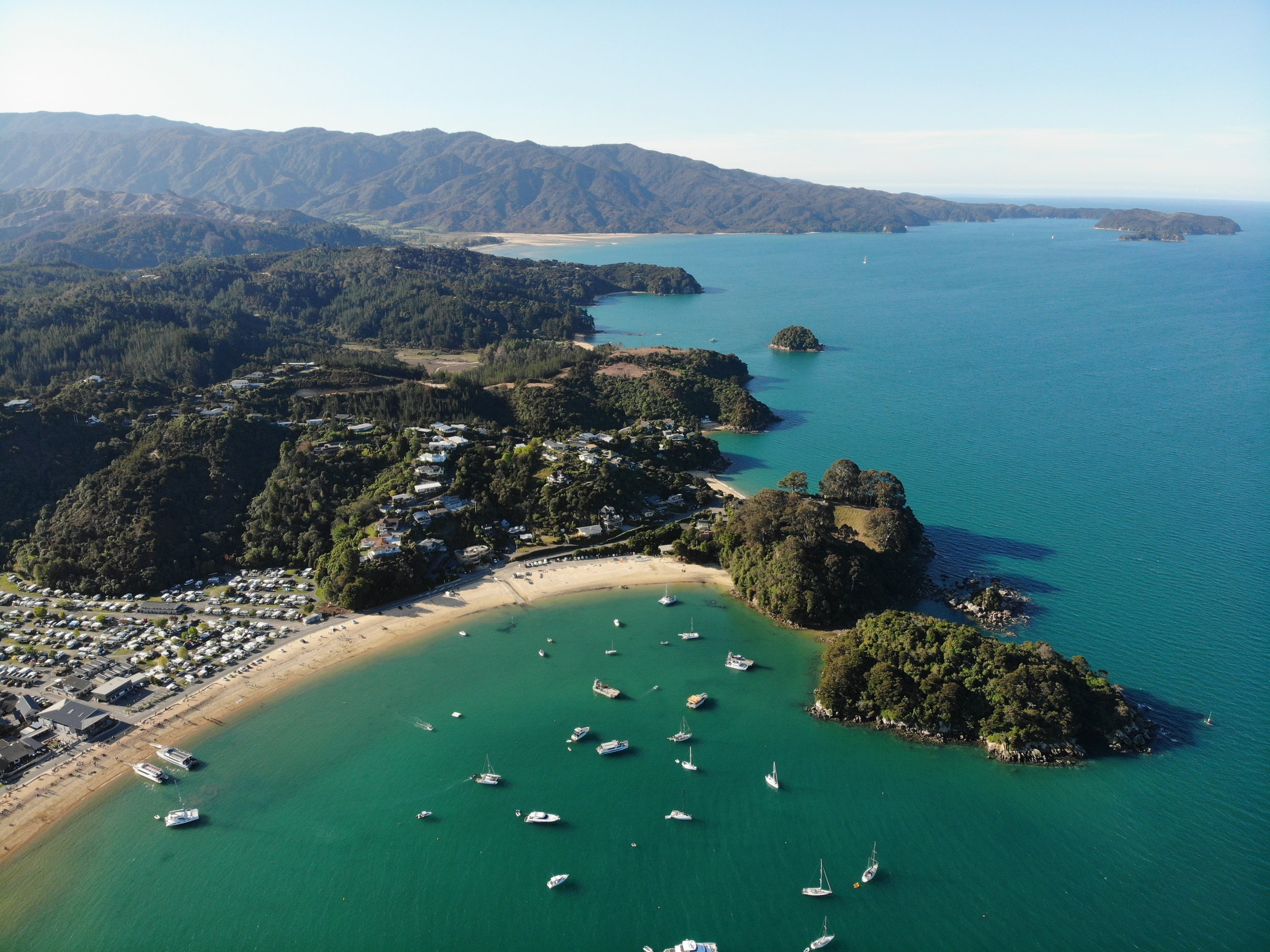 Kaiteriteri Beach, Abel Tasman, South Island, New Zealand