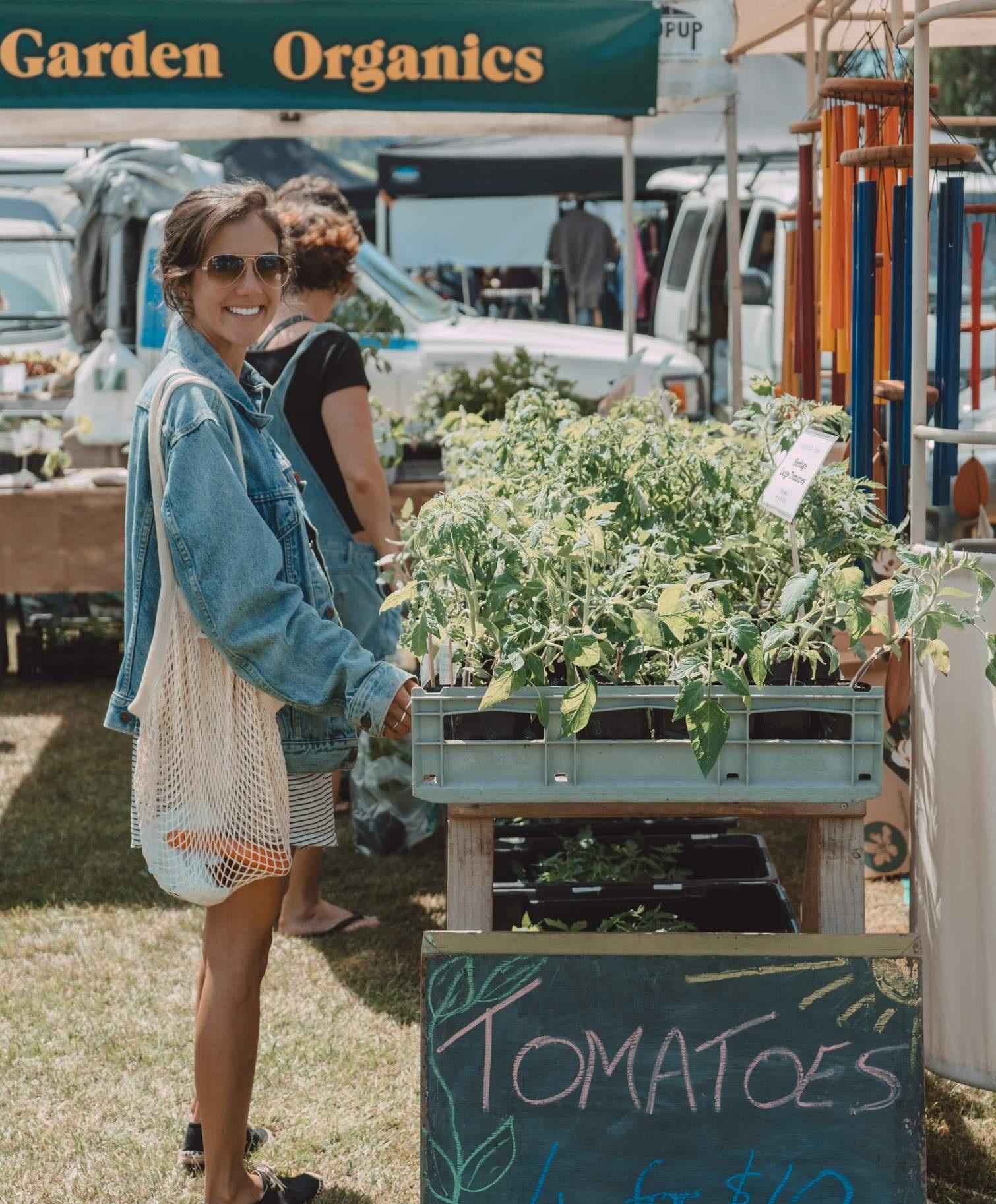 Farmers Market in Motueka, New Zealand