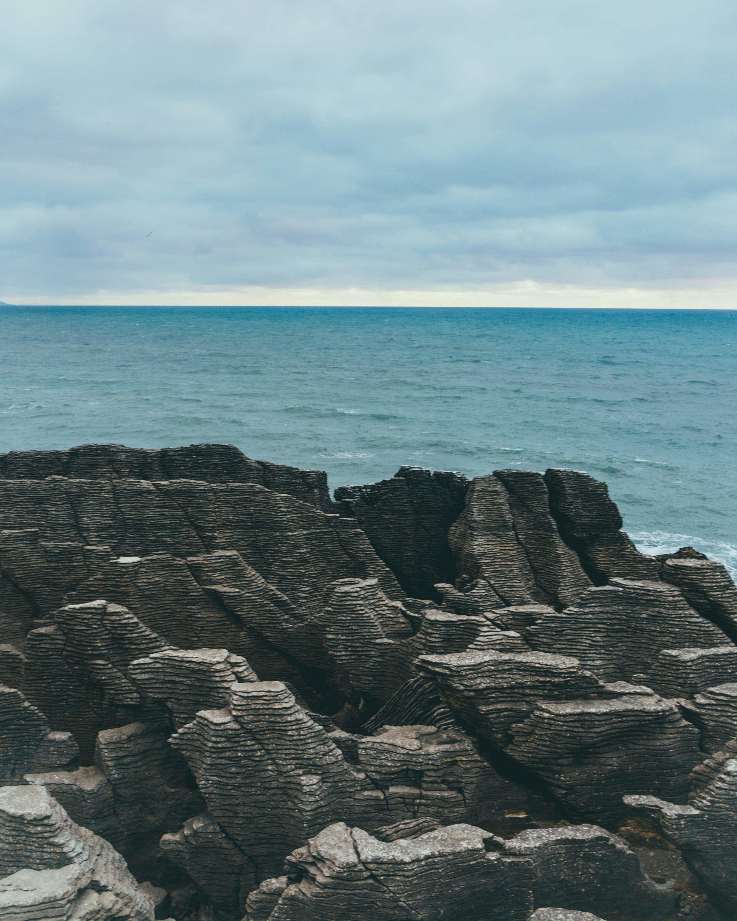 Punakaiki Pancake Rocks and Blowholes, South Island, New Zealand