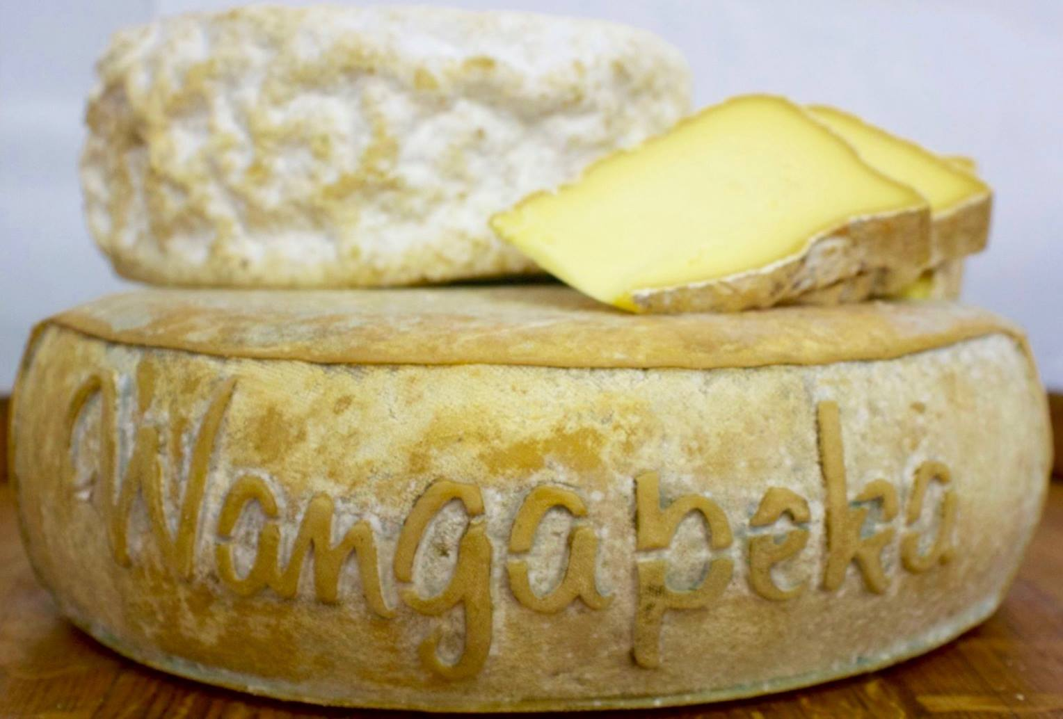 Magnificent full rounds of Wangapeka Cheese