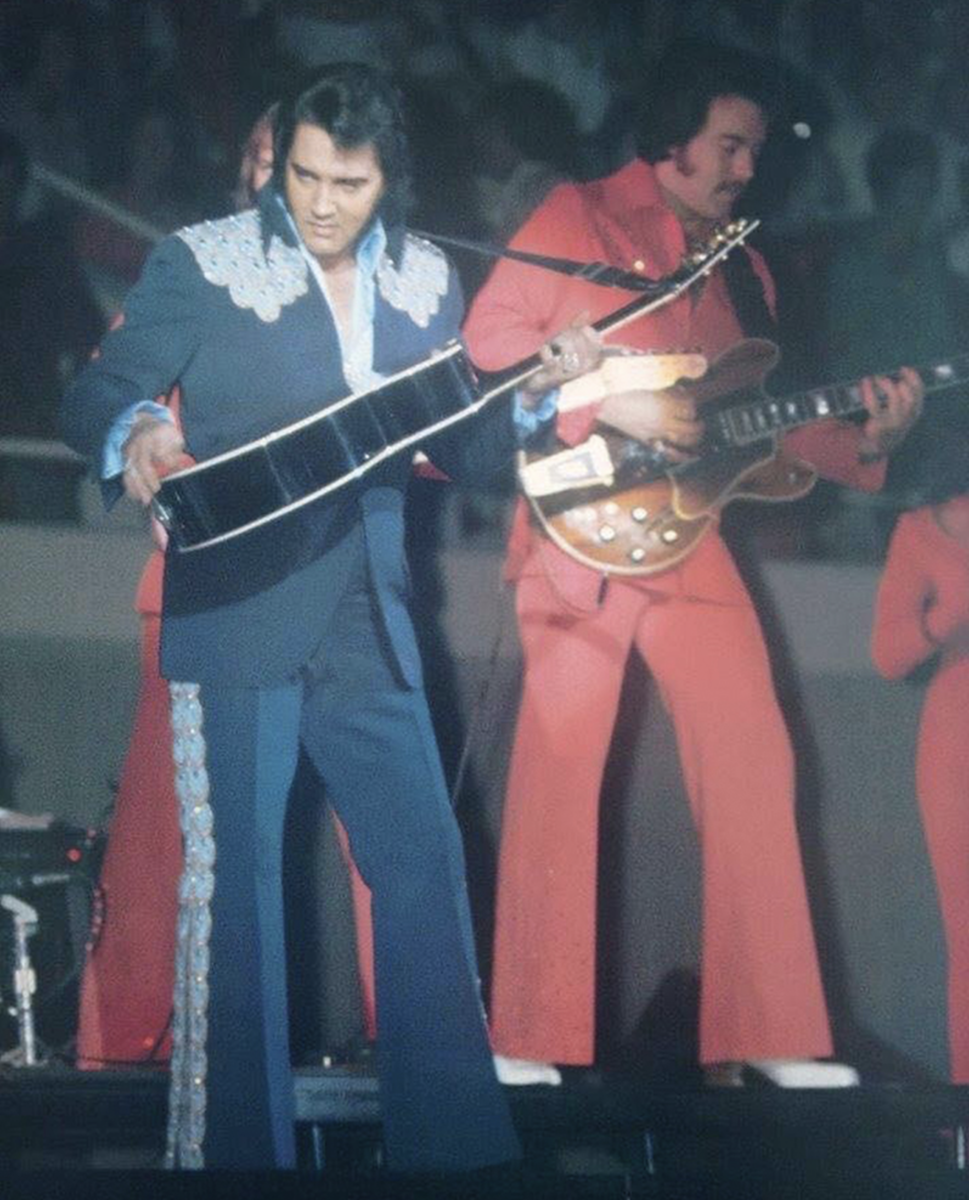 Elvis sleeveless jumpsuit and jackets sells for $250,000 during Graceland Elvis Week Auction