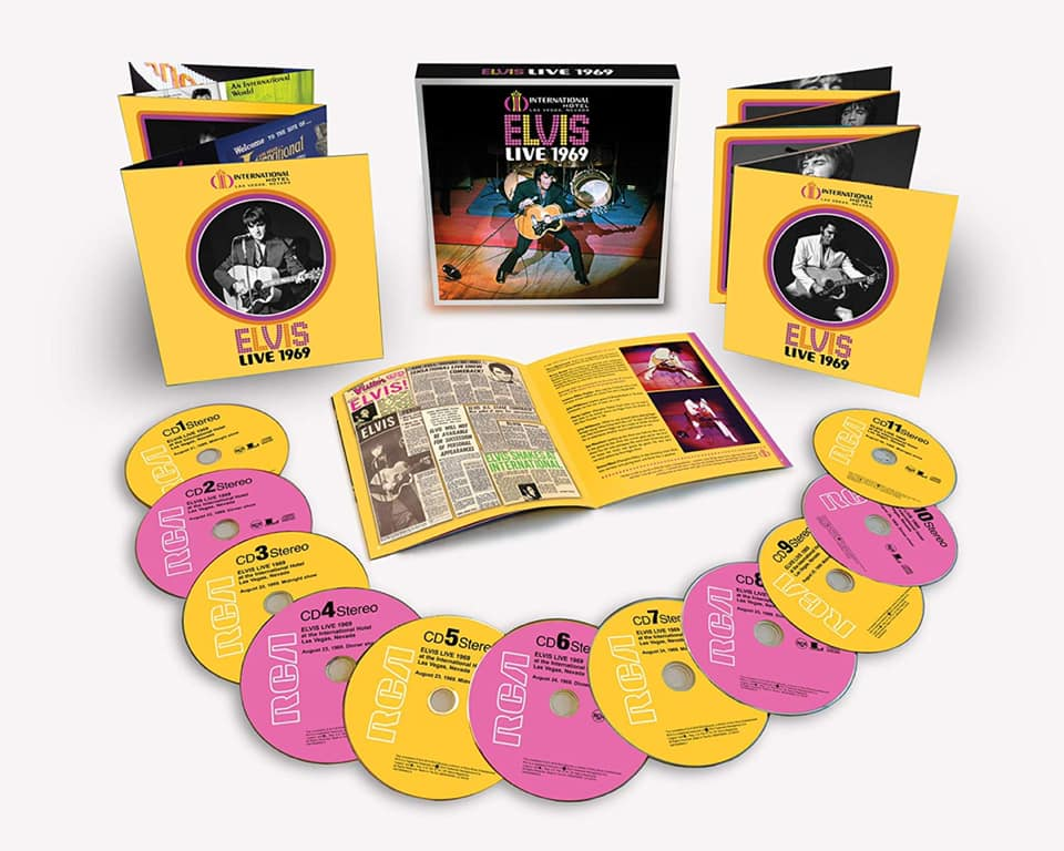 Elvis 1969 11 CD Boxset Available August 9th