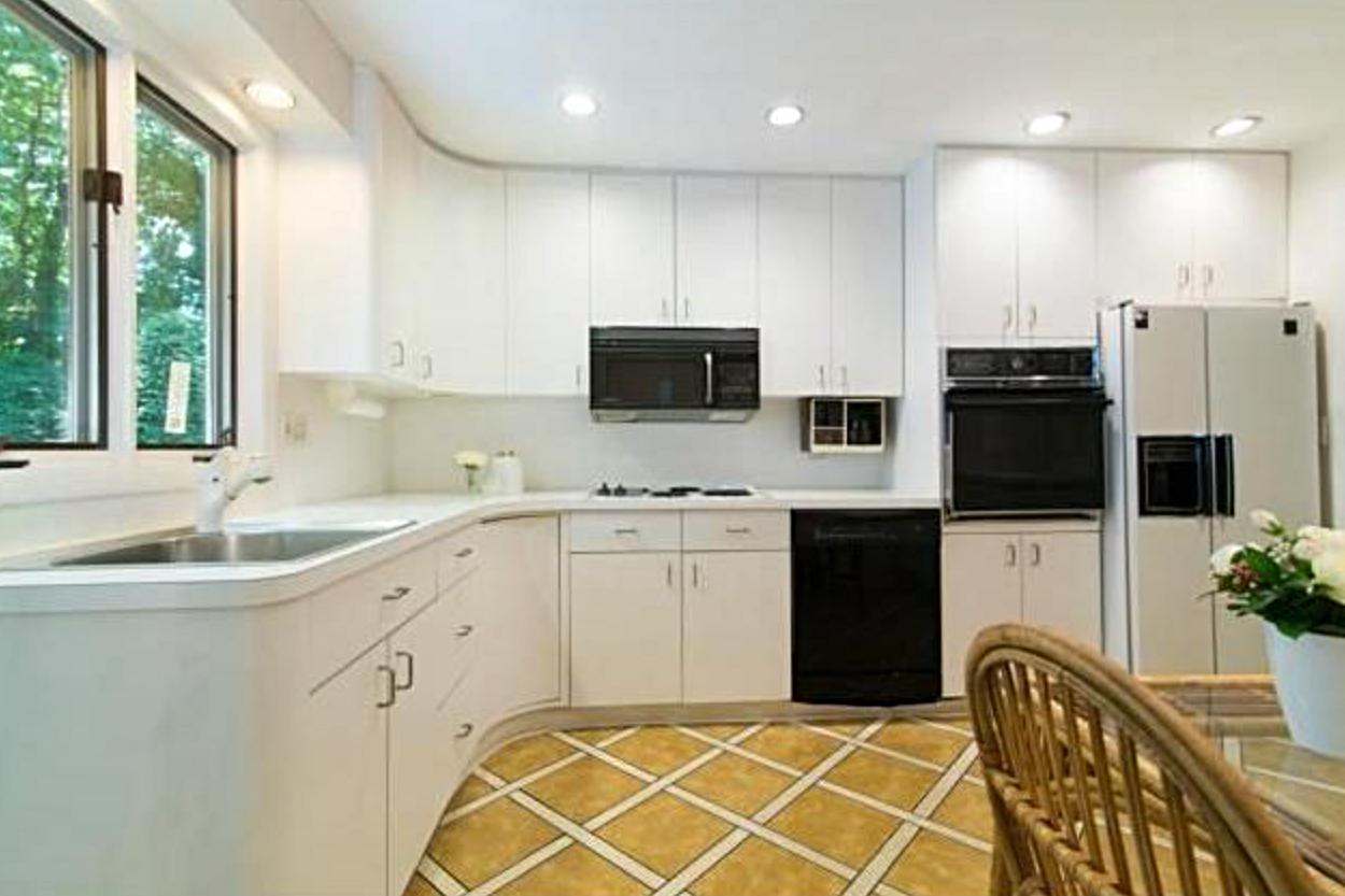 kitchen floor before