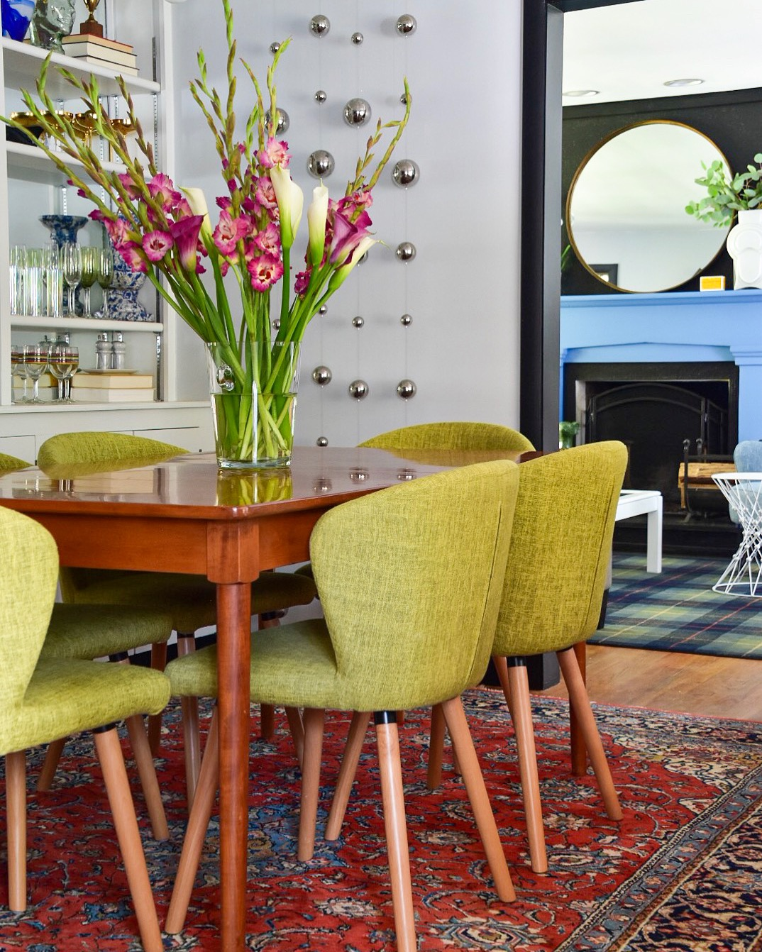 modern traditional dining room by the rath project