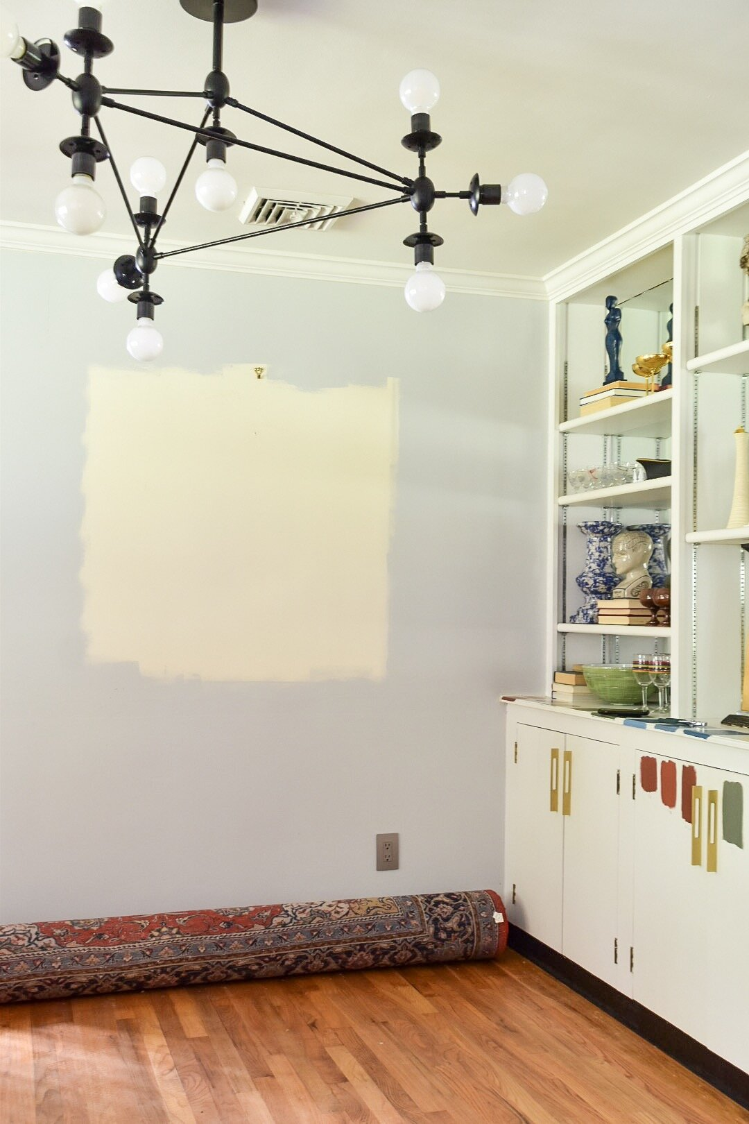 Dining room redesign and painting the rath project