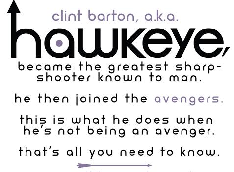 Hawkeye, Issue #1