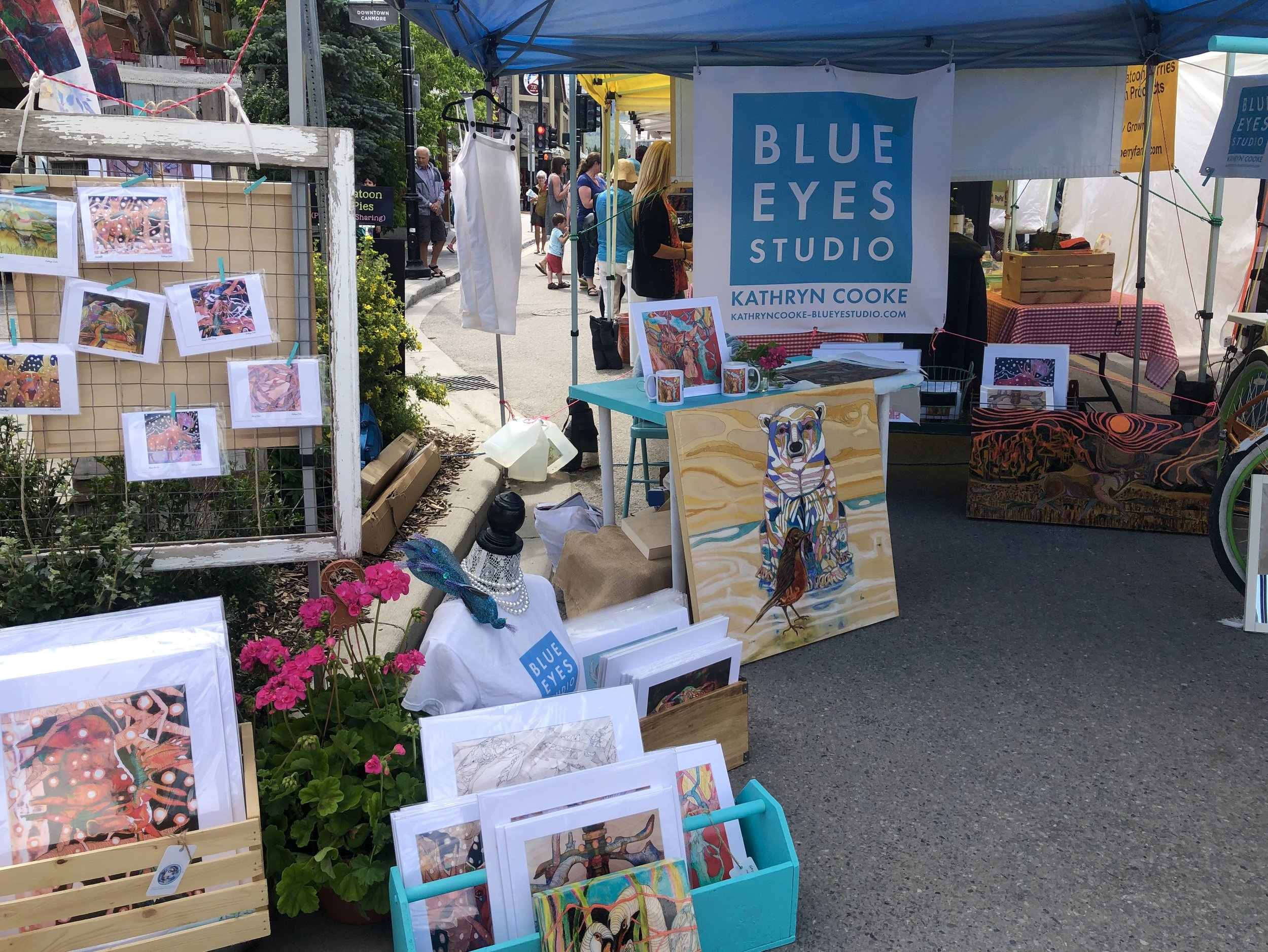 Blue Eyes Blue EyesStudio from Canmore Market