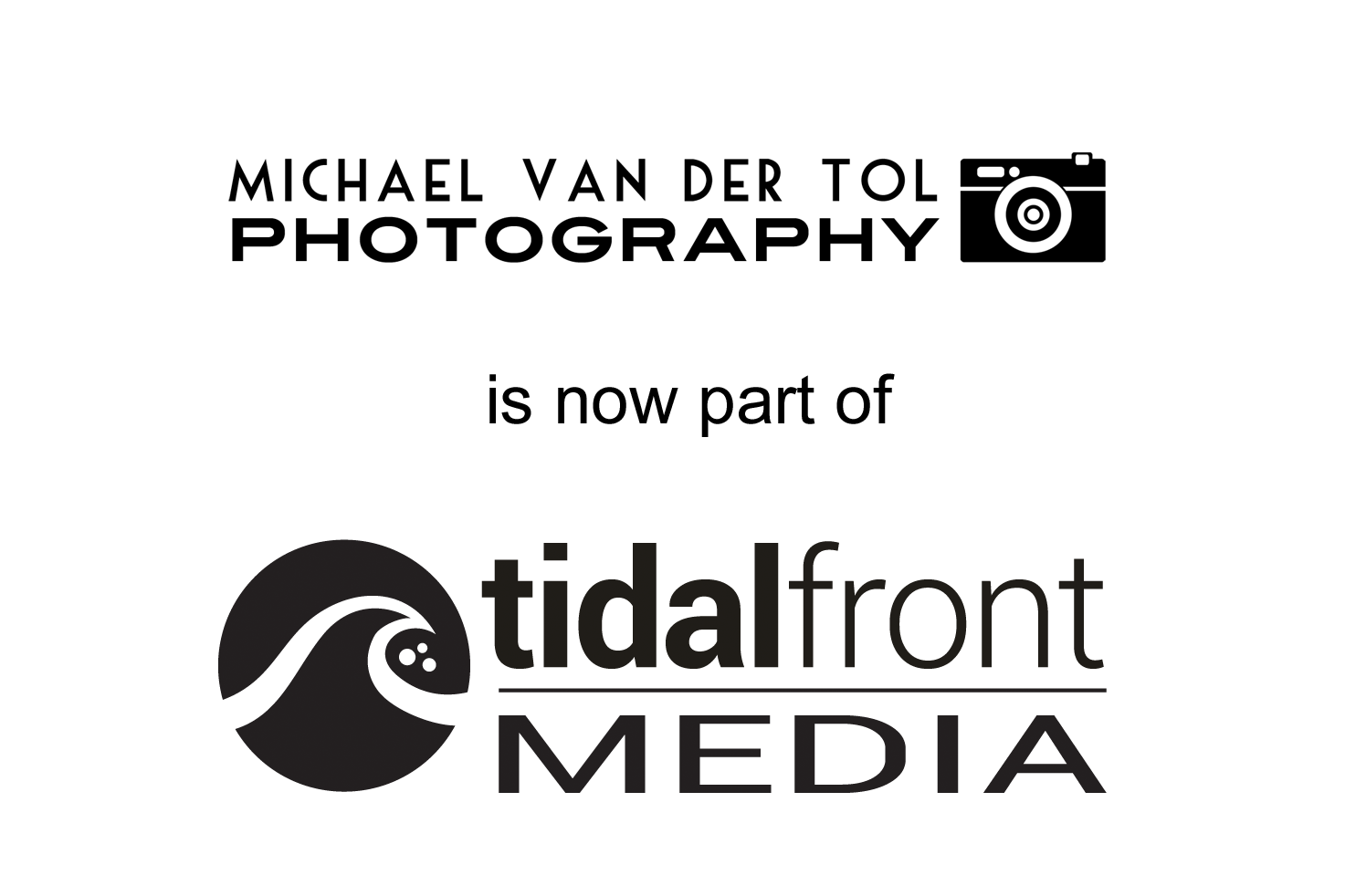 Michael Van der Tol Photography is now Tidal Front Media.png