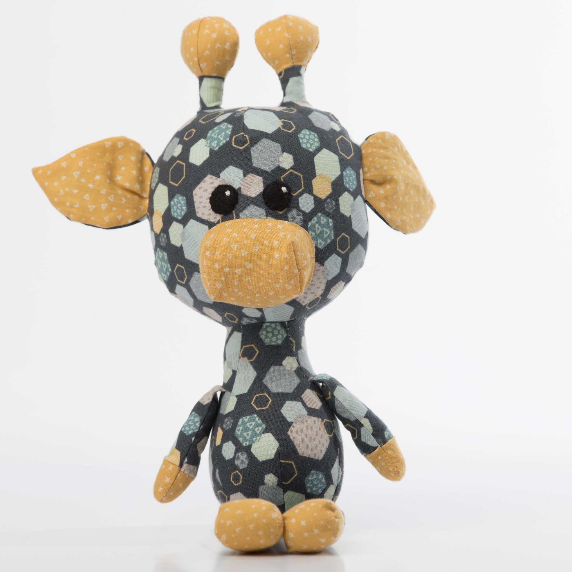 Rasen the Giraffe Tutorial   Click here to view the video tutorials on how to sew Rasen.