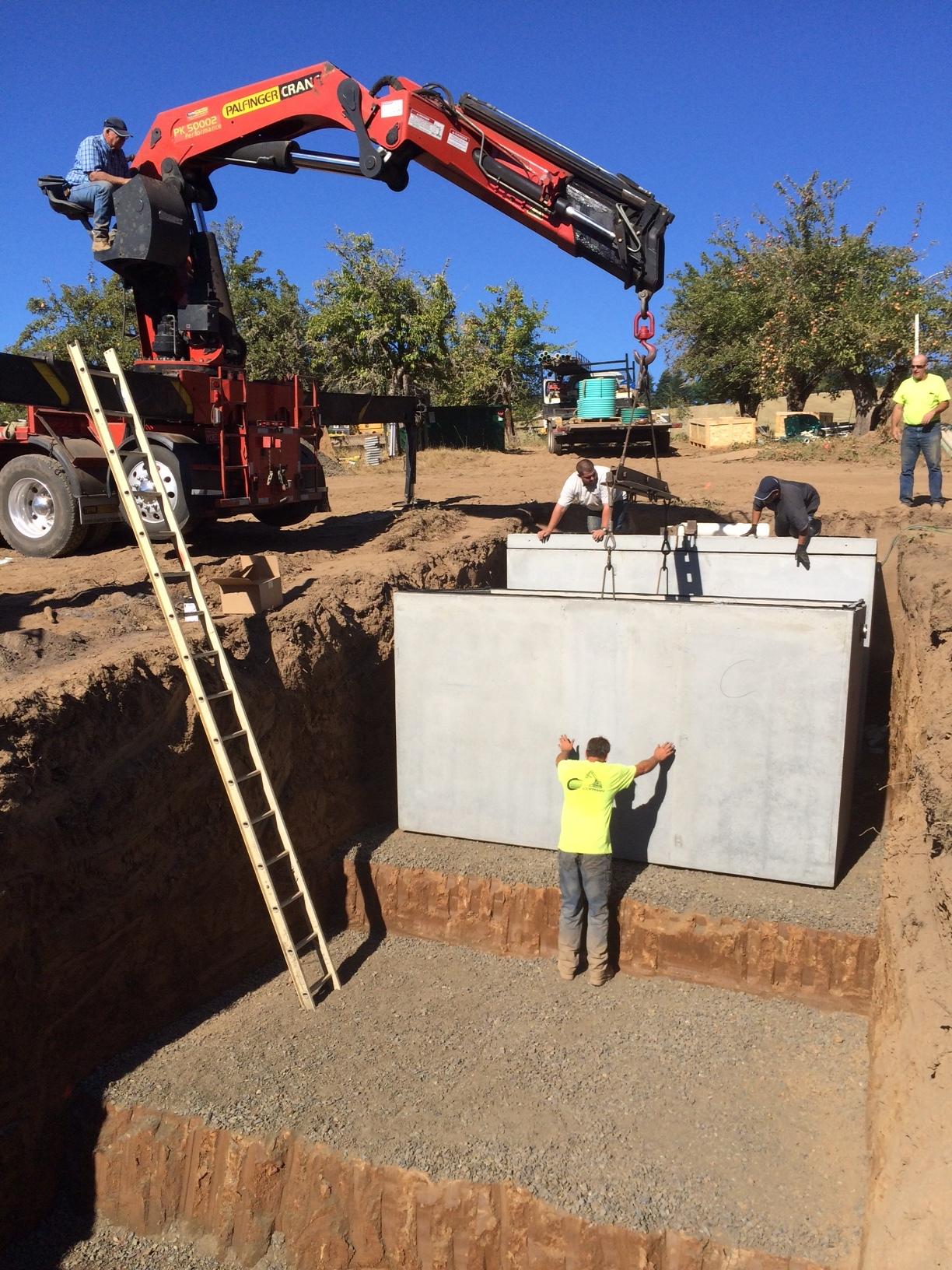 On Site Sewage Treatment in Progress.JPG