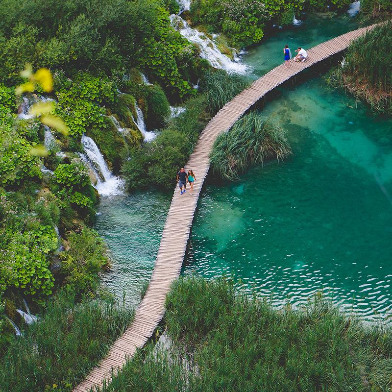North to south Croatia -