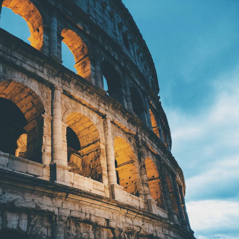 London, Paris &Rome -