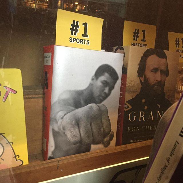 Ali is #1 according to @strandbookstore so it must be true!